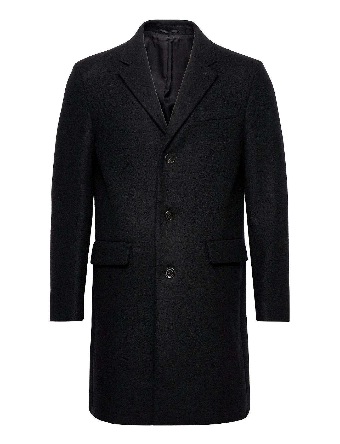 M. Rhine Coat Uldfrakke Frakke Sort Filippa K