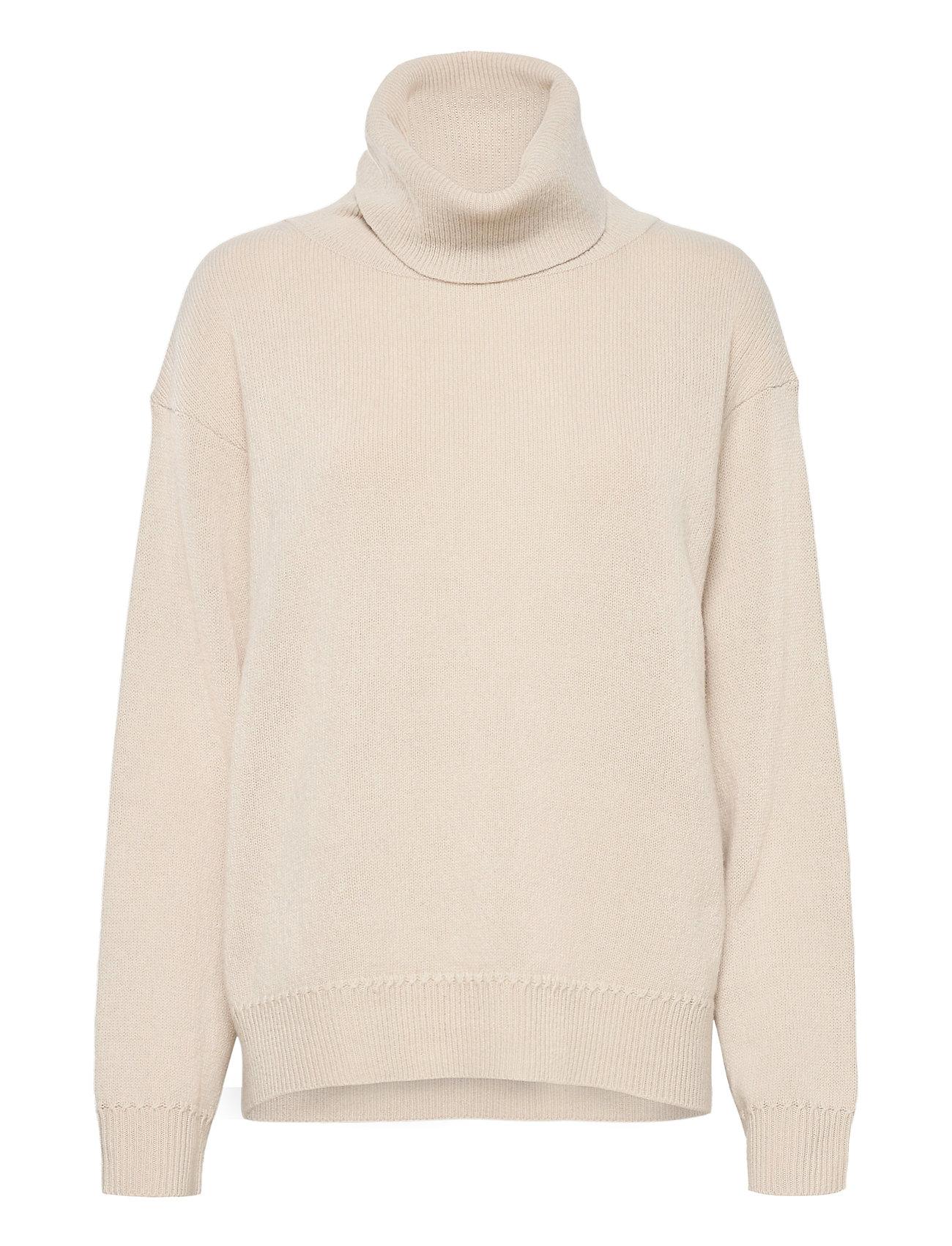 Molly Roll-Neck Sweater Turtleneck Rullekravetrøje Creme Filippa K