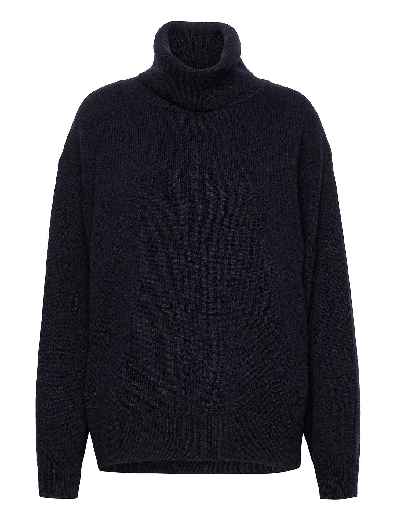 Molly Roll-Neck Sweater Turtleneck Rullekravetrøje Blå Filippa K