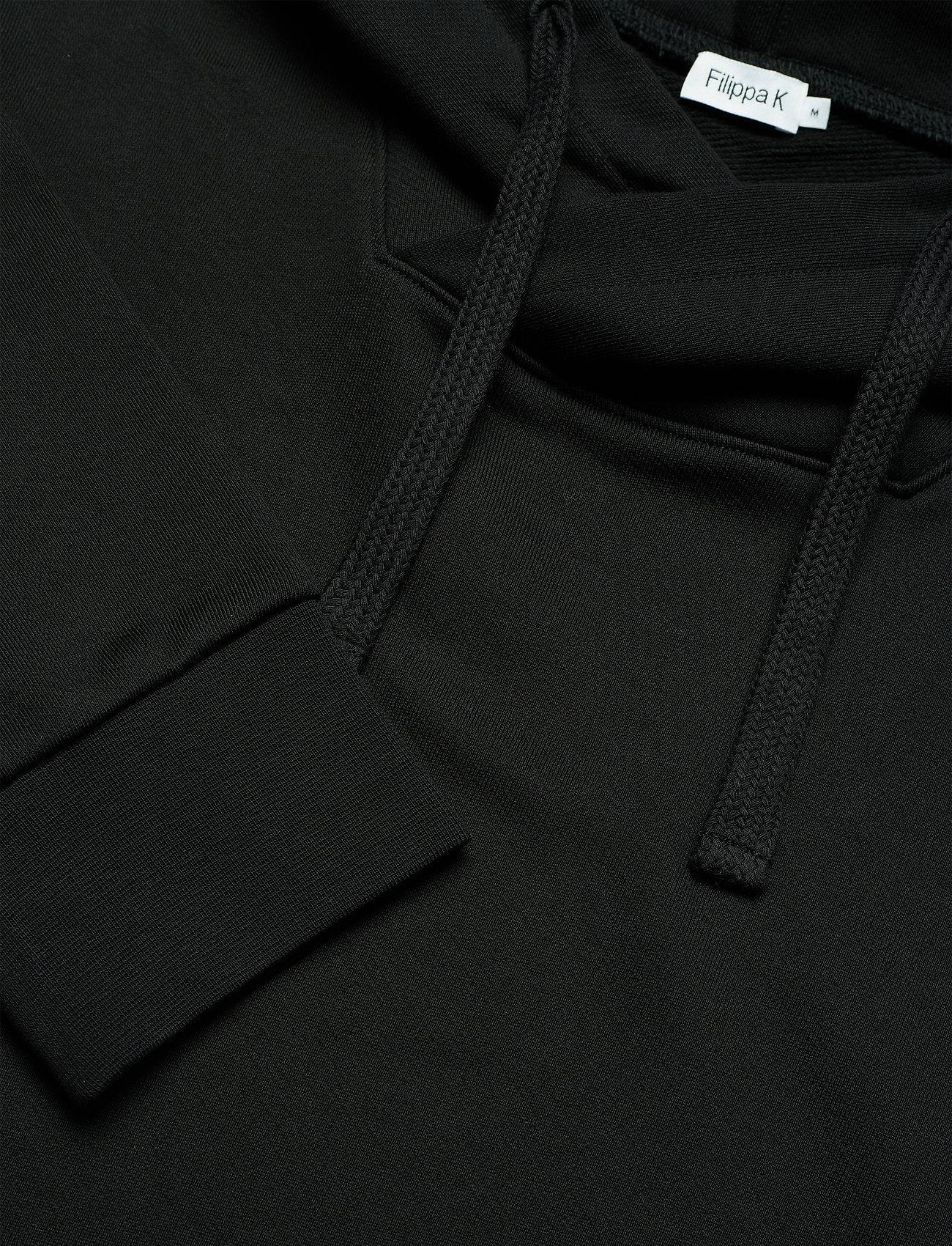 Filippa K - M. Walter Hoodie - hoodies - black - 2