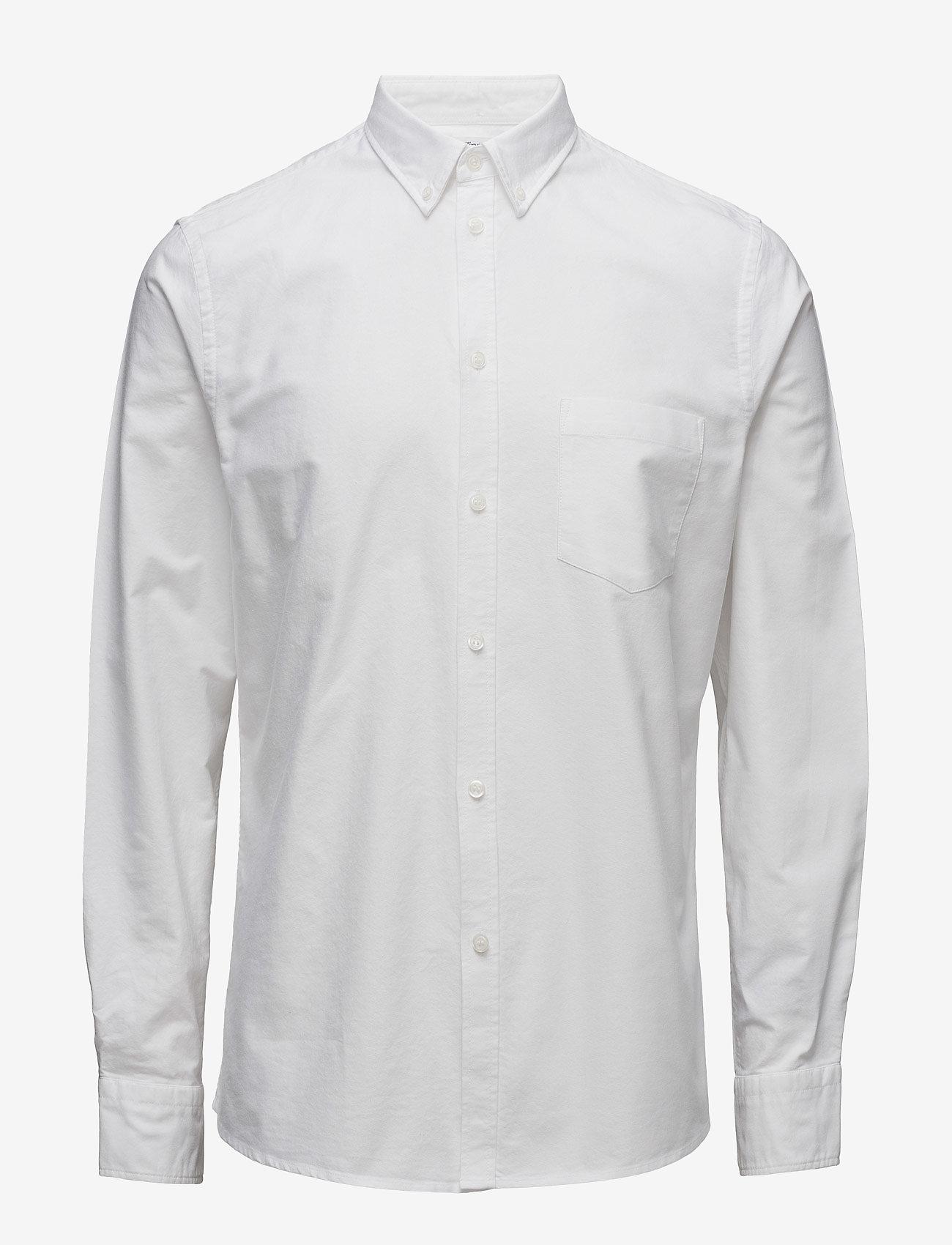 Filippa K - M. Paul Oxford Shirt - formele overhemden - white - 0