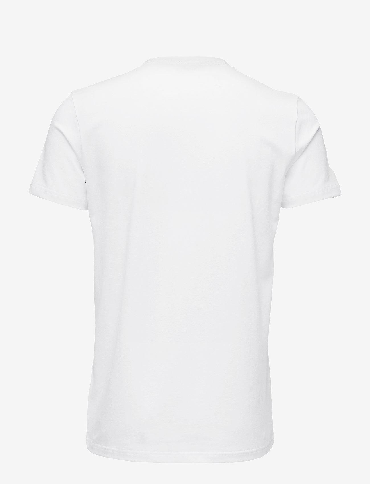 Filippa K - M. Lycra V-Neck Tee - kortermede t-skjorter - white - 1
