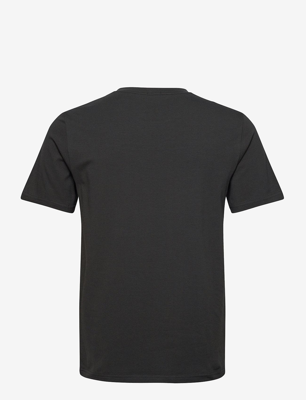 Filippa K - M. Lycra Tee - basic t-shirts - dark spruc - 1