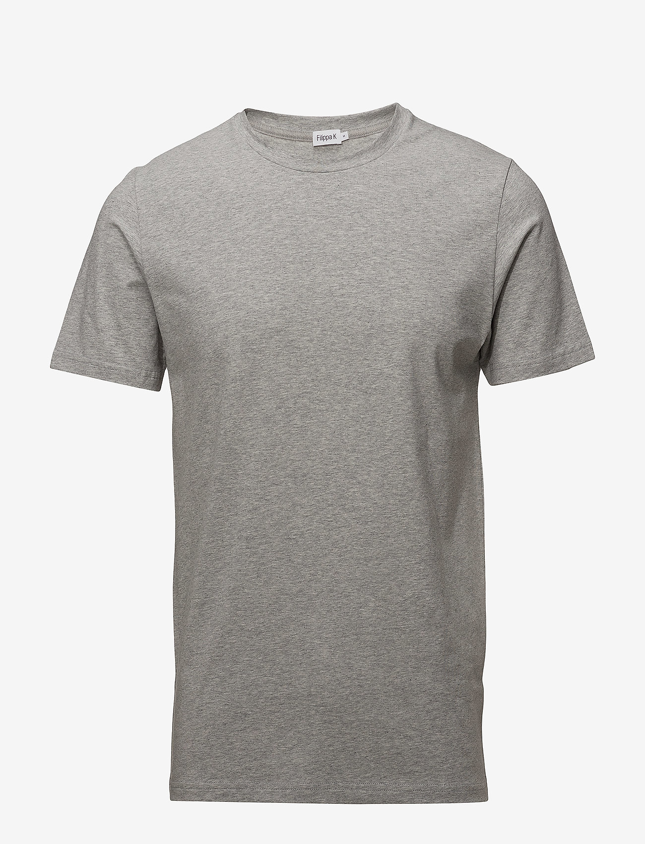 Filippa K - M. Lycra Tee - t-shirts basiques - light grey - 0