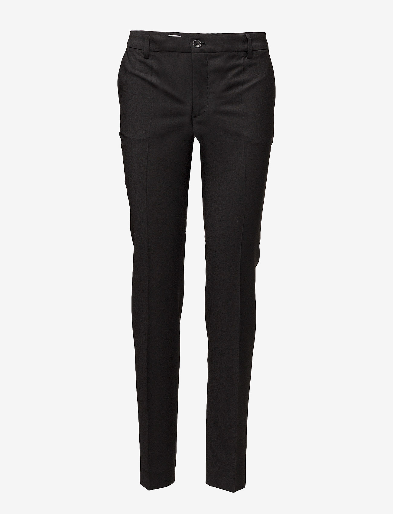 Filippa K - Luisa Cool Wool Trouser - raka byxor - black - 0
