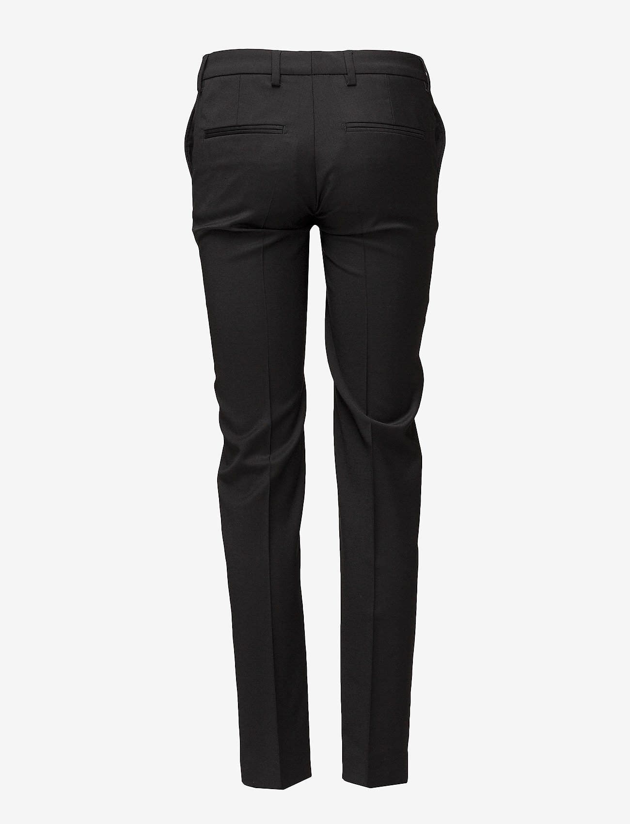 Filippa K - Luisa Cool Wool Trouser - raka byxor - black - 1