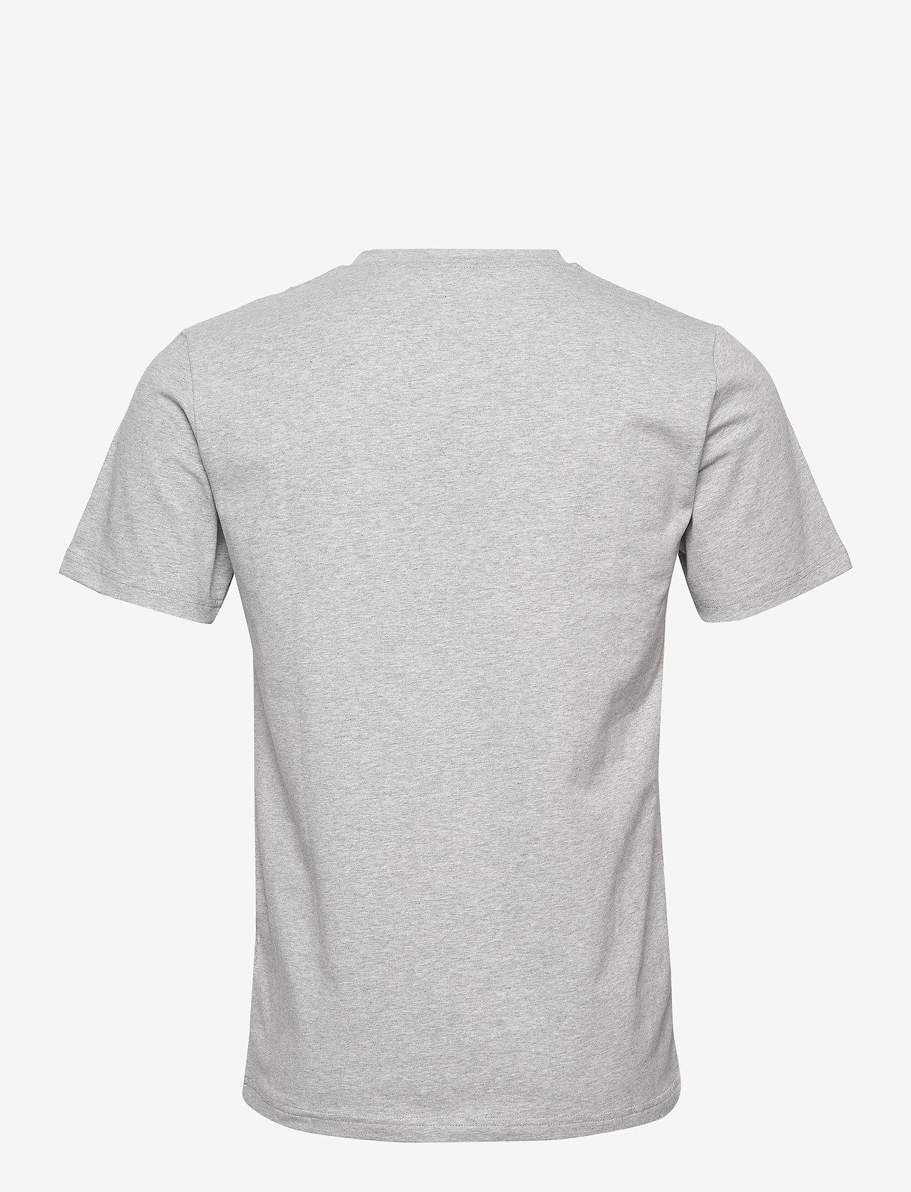 Filippa K - M. Lycra V-Neck Tee - korte mouwen - light grey - 1