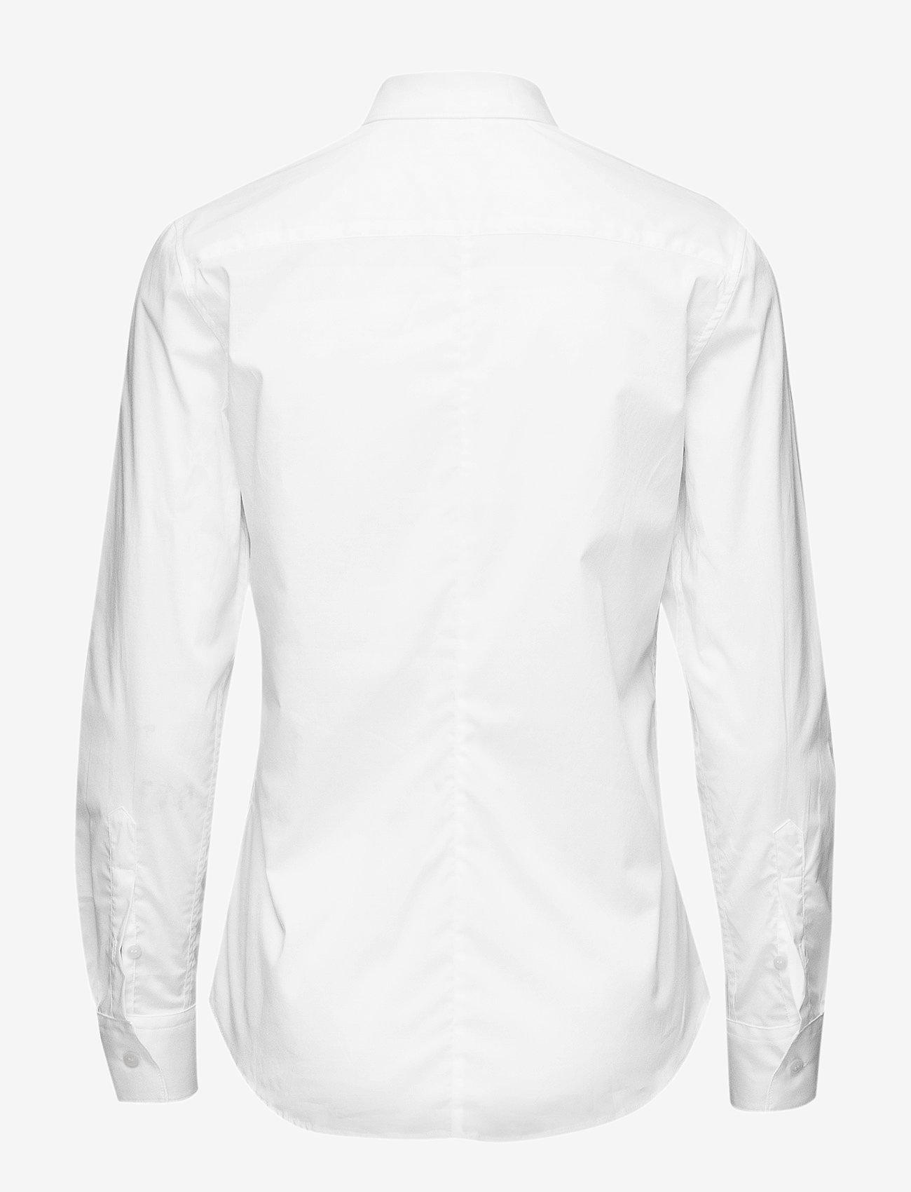 Filippa K - Classic Stretch Shirt - long-sleeved shirts - white - 1