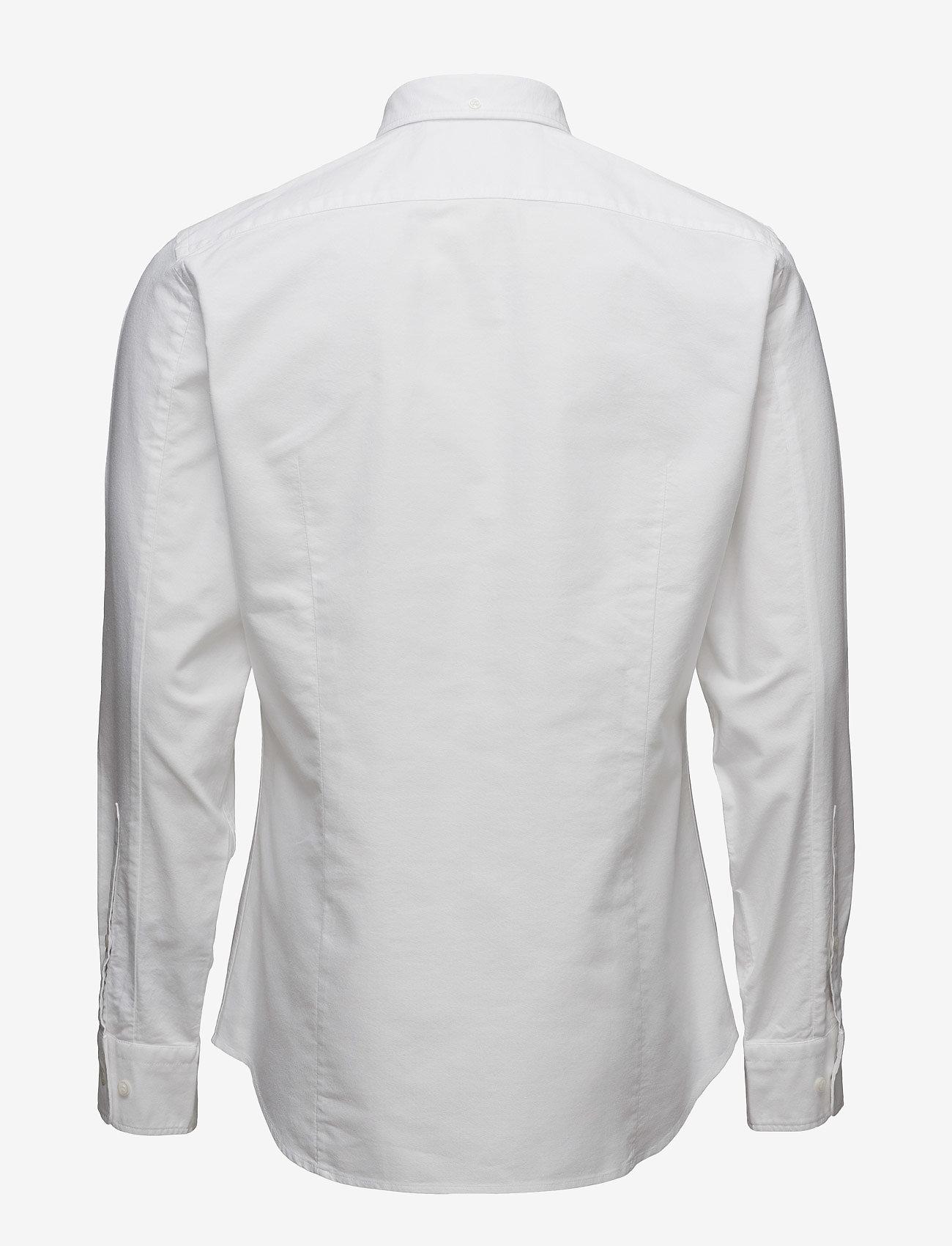 Filippa K - M. Paul Oxford Shirt - basic skjortor - white - 1