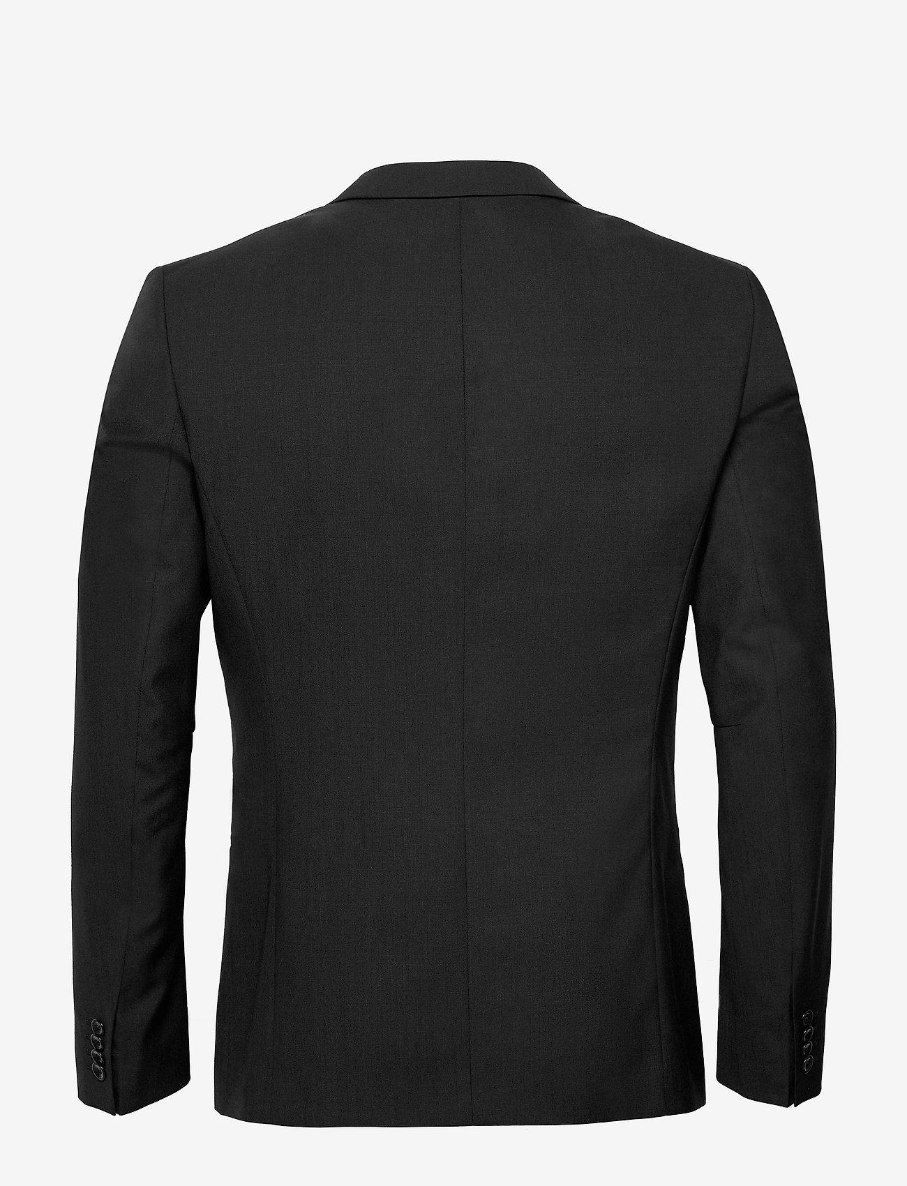 Filippa K - M. Christian Cool Wool Jacket - enkeltradede blazere - black - 1