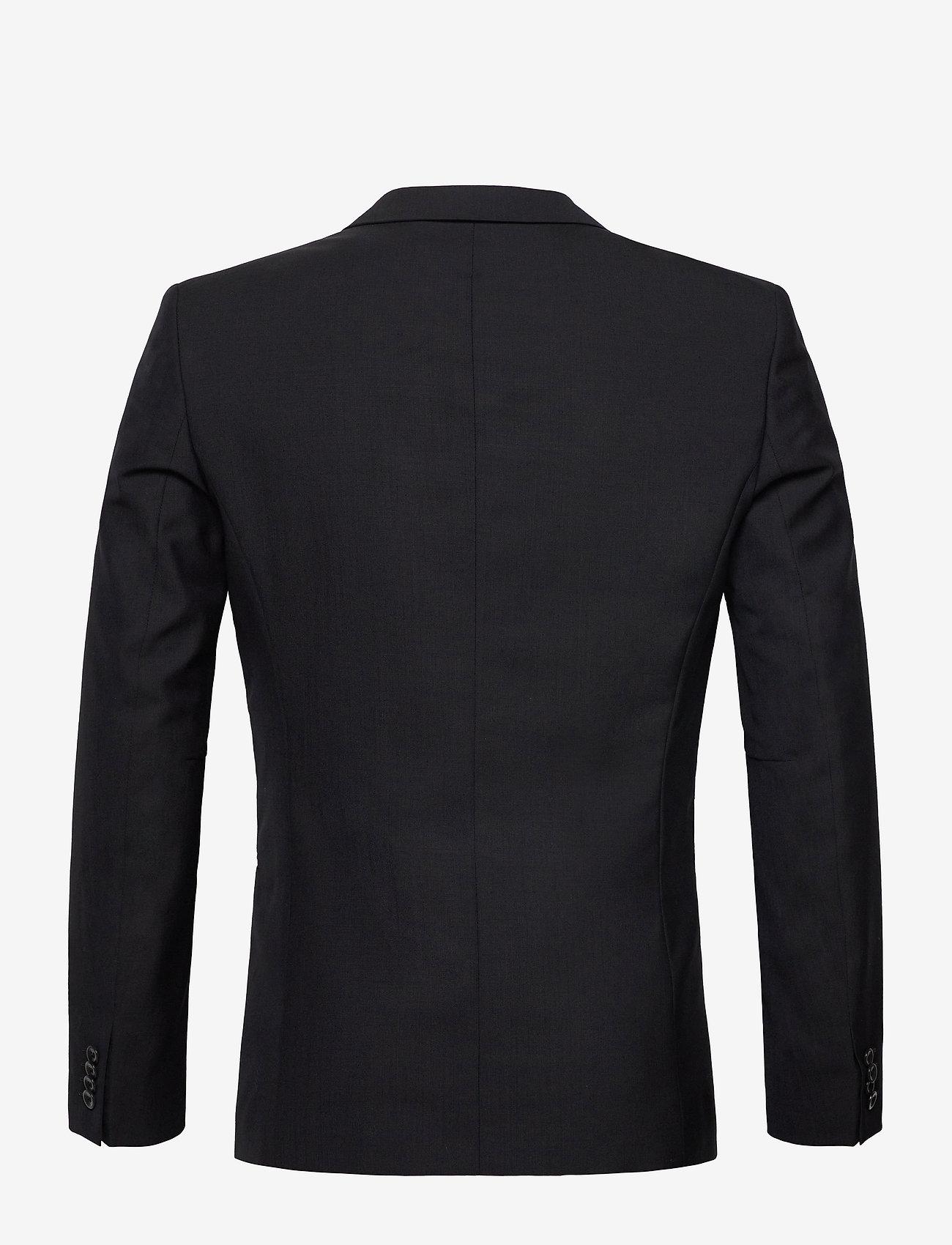 Filippa K - M. Christian Cool Wool Jacket - yksiriviset bleiserit - dk. navy - 1