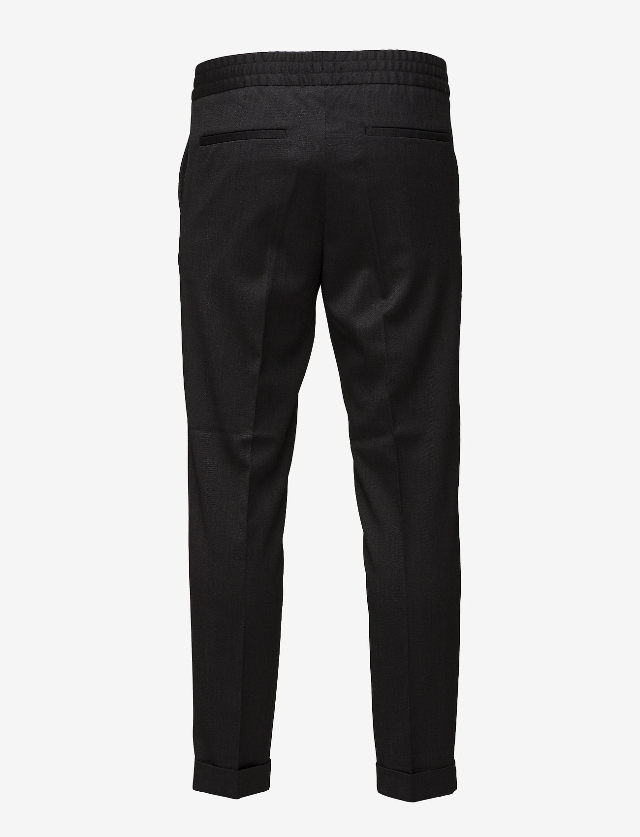 Filippa K - TERRY CROPPED TROUSER - suit trousers - anthracite - 3