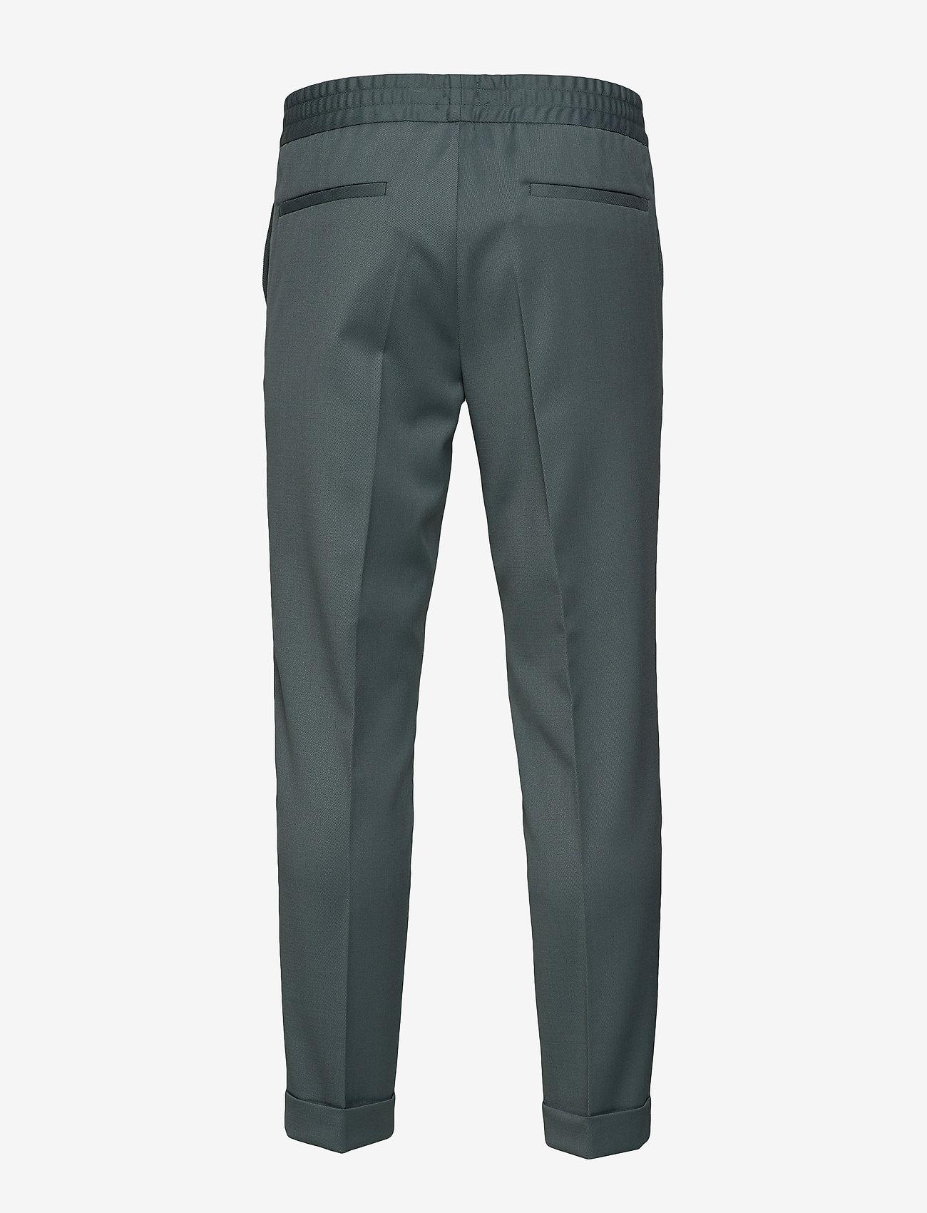 Filippa K - M. Terry Gabardine Pants - formele broeken - dark mint - 1