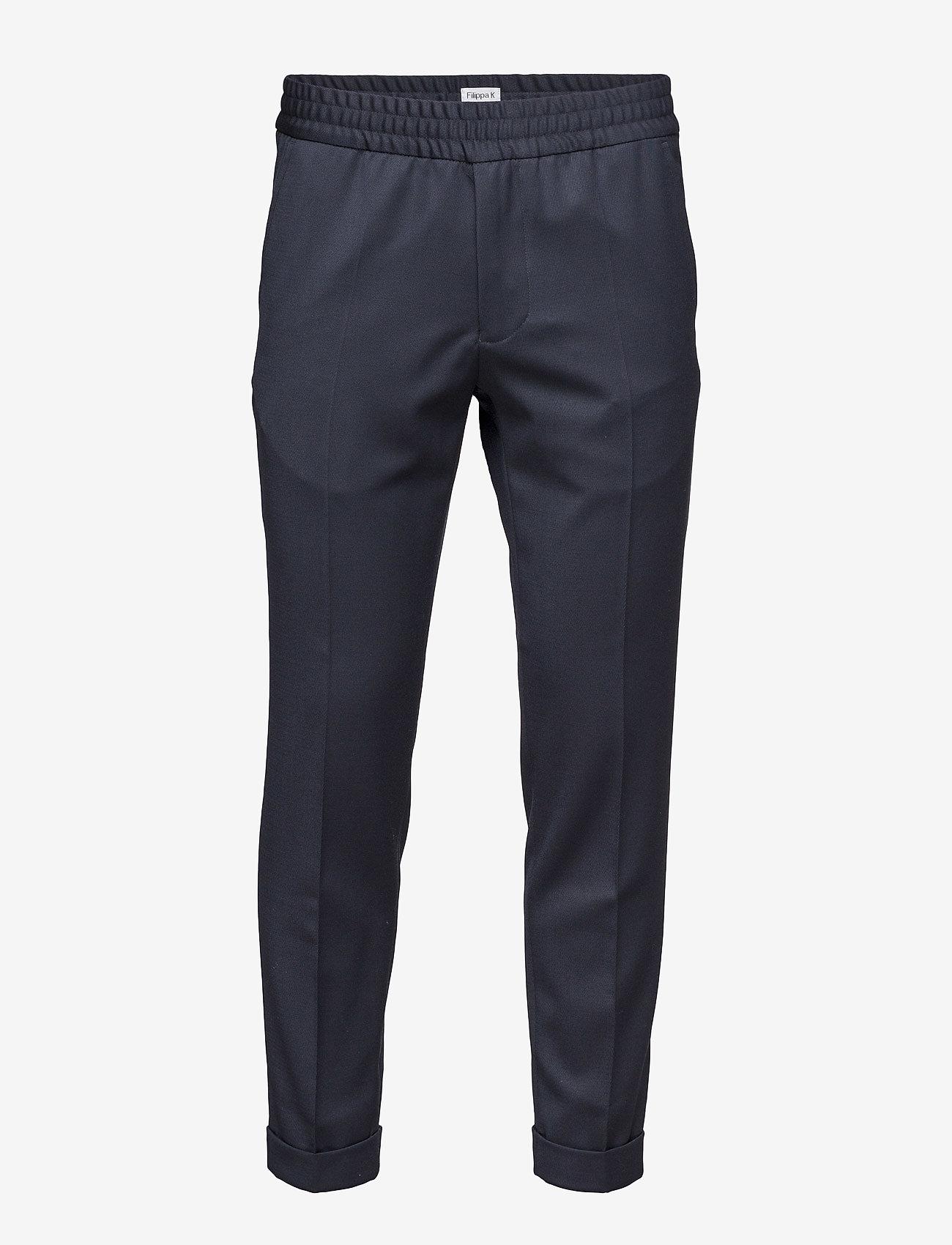 Filippa K - M. Terry Gabardine Pants - formele broeken - navy - 0