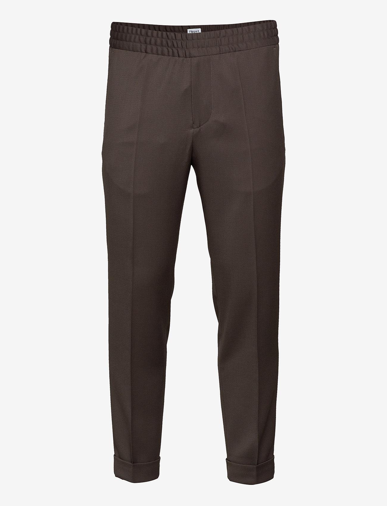 Filippa K - M. Terry Gabardine Pants - formele broeken - taupe - 0