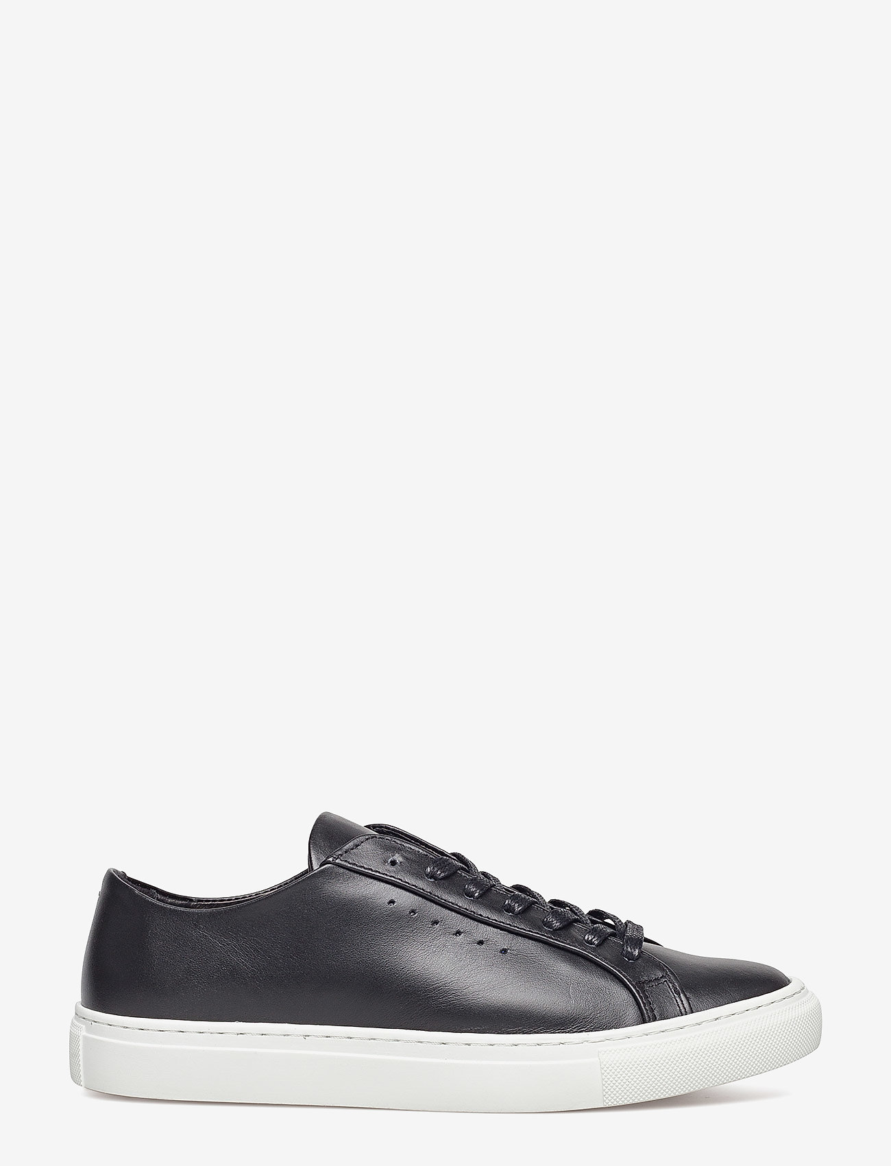 Filippa K - Kate Low Sneaker - sportiska stila apavi ar pazeminātu potītes daļu - black/whit - 1
