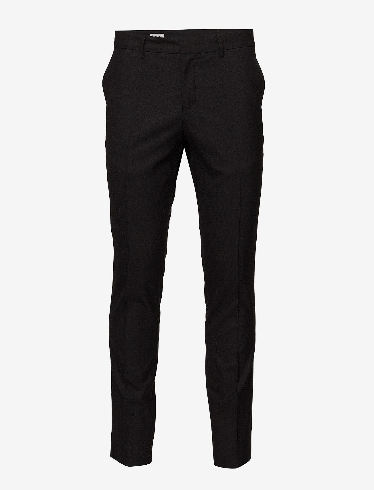 Filippa K - M. Liam Wool Trouser - formele broeken - black - 0