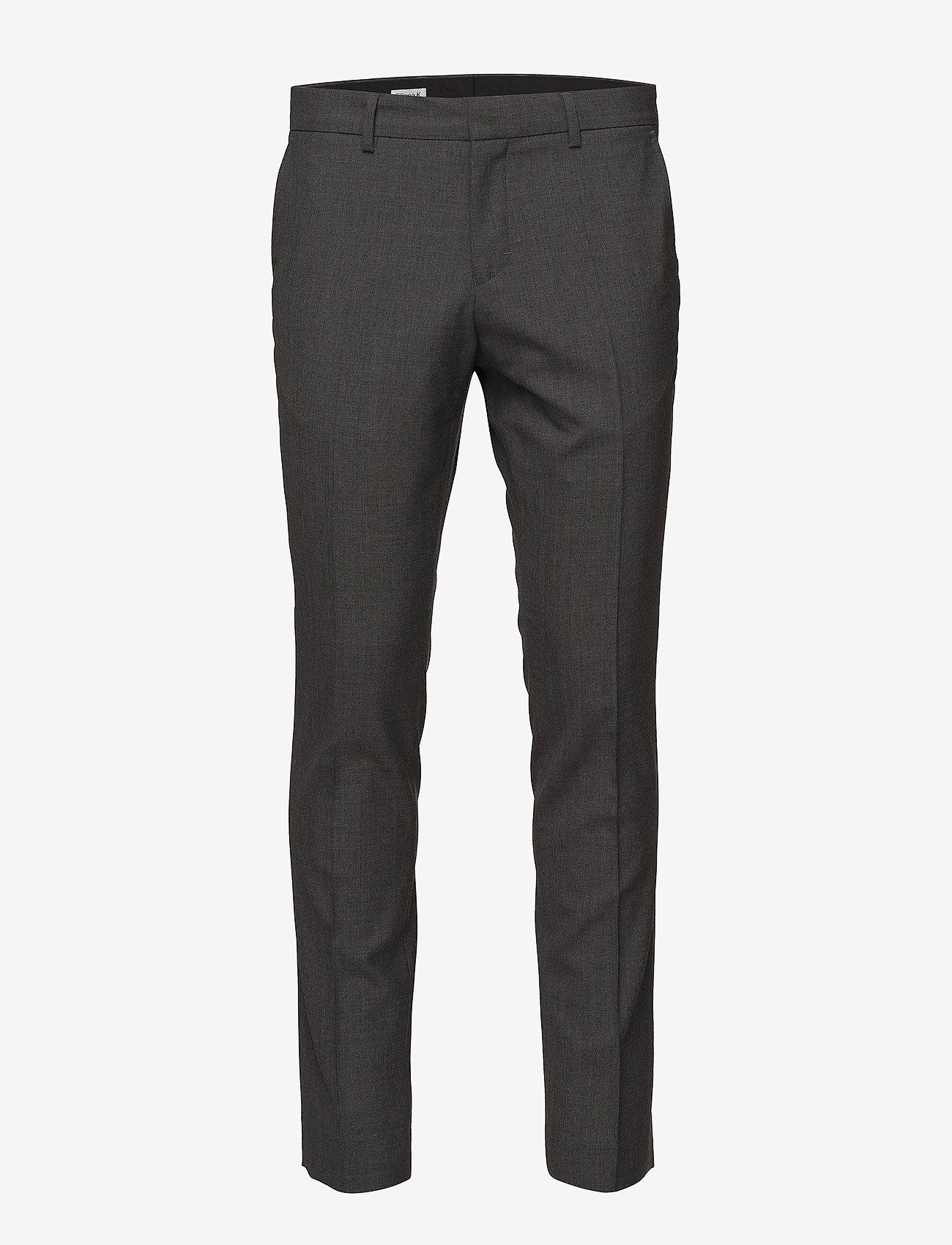 Filippa K - M. Liam Wool Trouser - formele broeken - grey mel. - 0