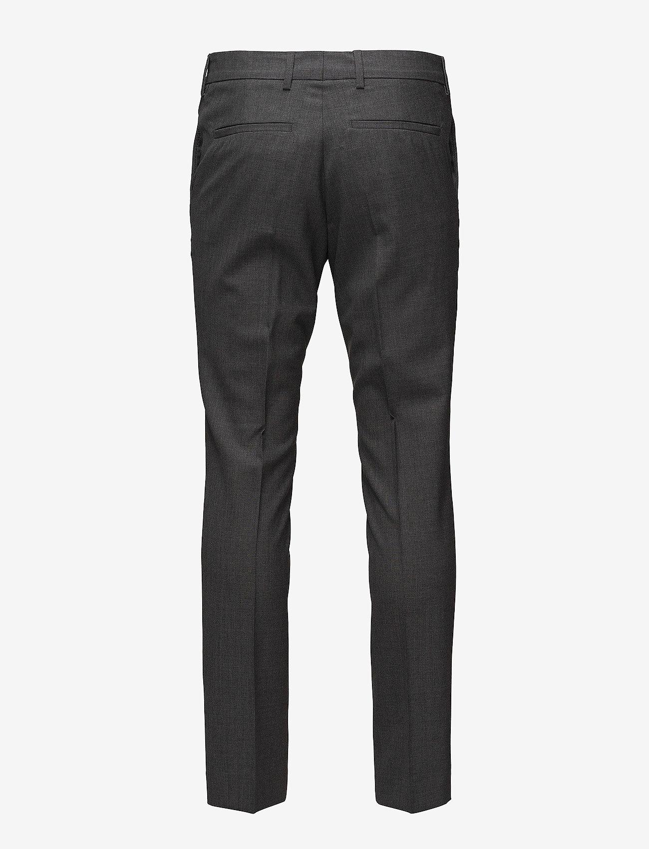 Filippa K - M. Liam Wool Trouser - formele broeken - grey mel. - 1