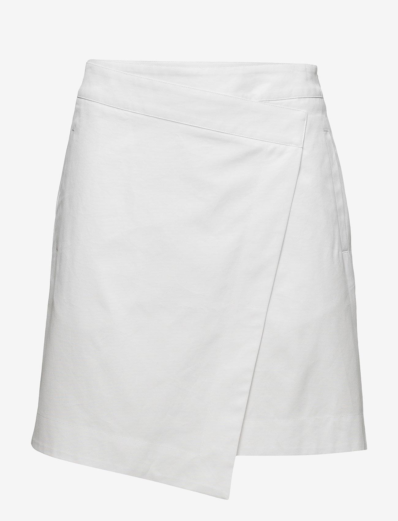 Filippa K - Keaton Canvas Skirt - korte nederdele - air - 0