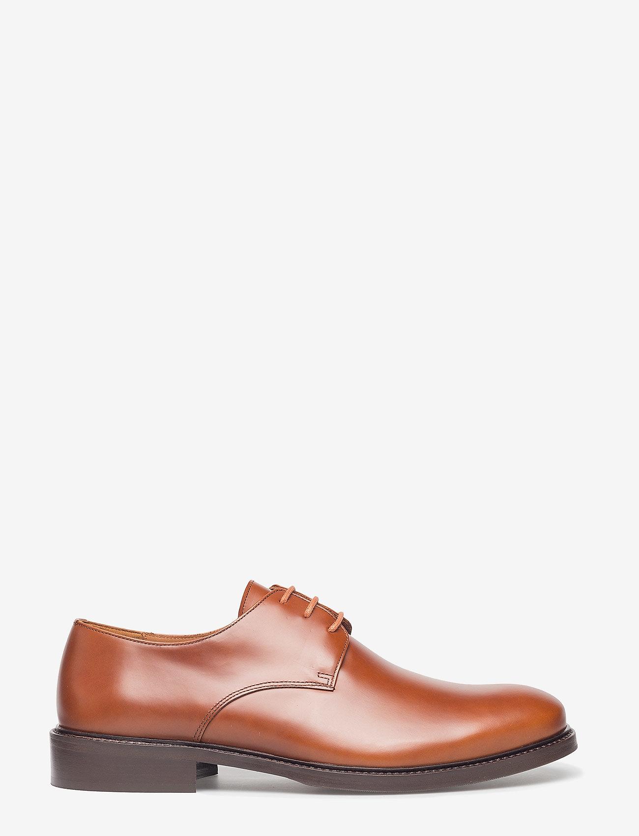 Filippa K - M. Allen Derby - laced shoes - rust - 1