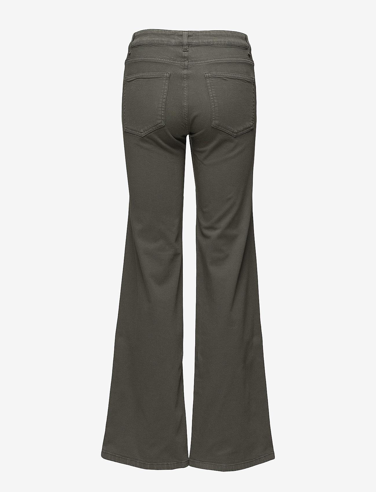 Filippa K - Amy Structured Denim - flared jeans - khaki gree - 1