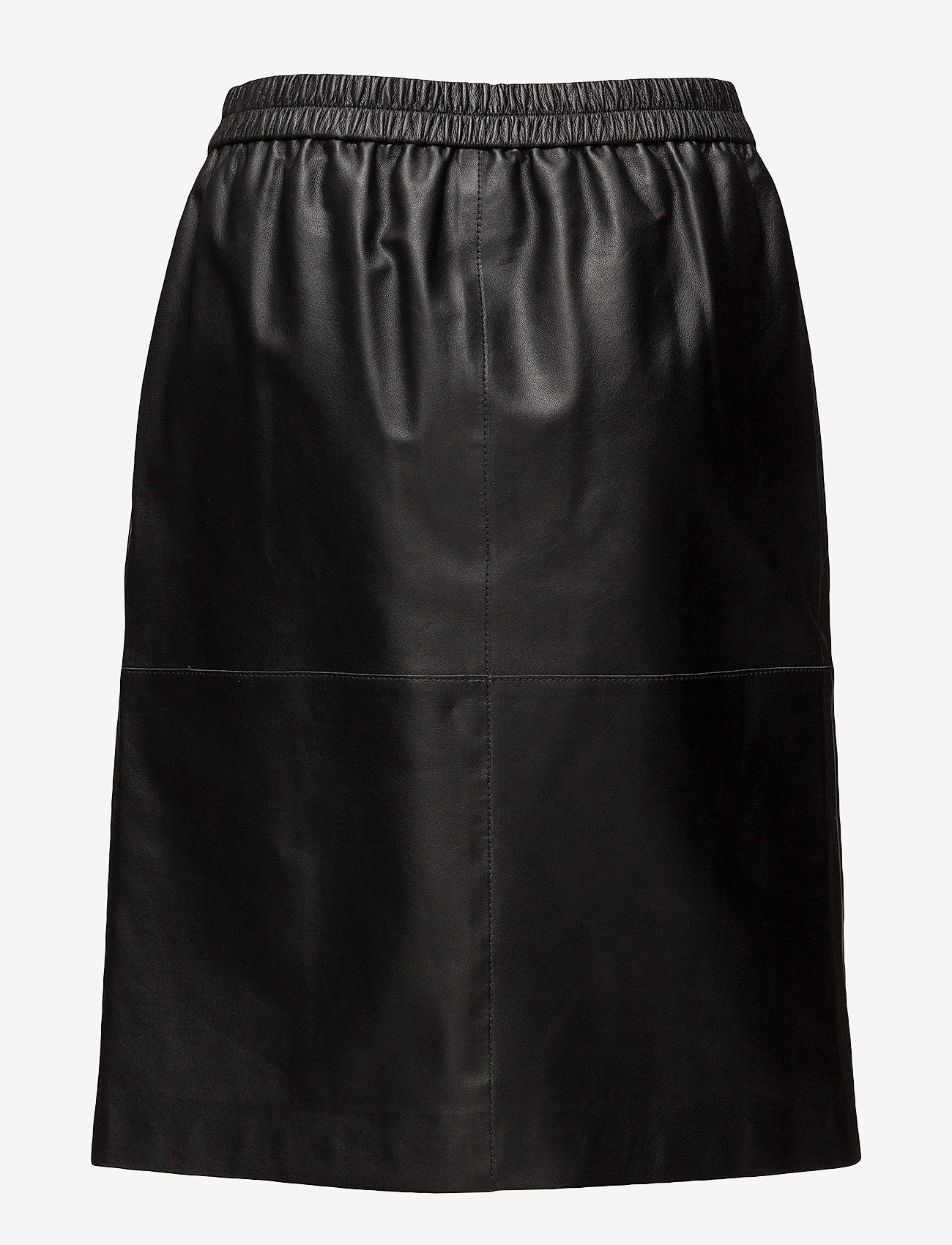 Agnes Leather Skirt (Black) - Filippa K HNup4H