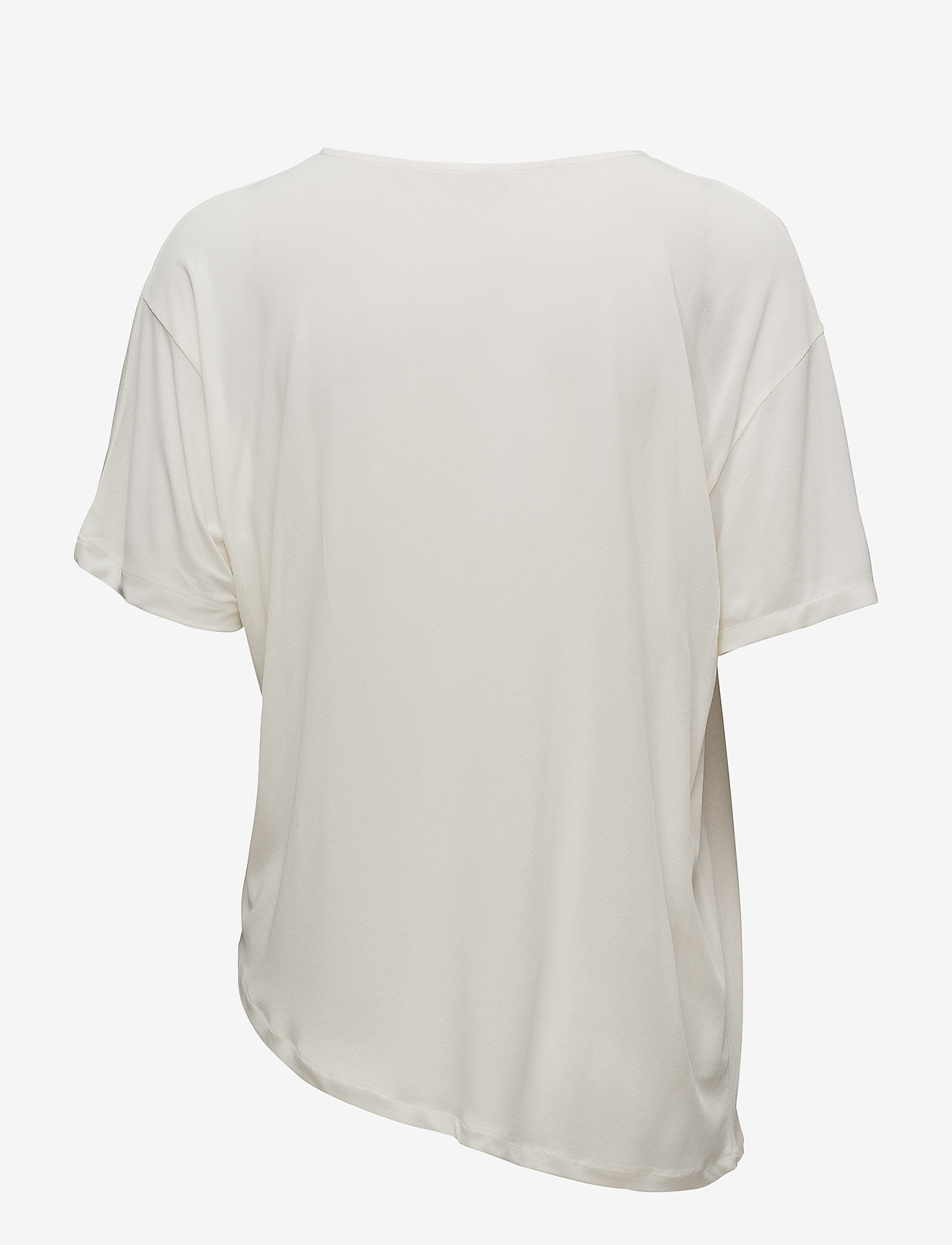 Filippa K - Smock Jersey Top - short-sleeved blouses - cream - 1