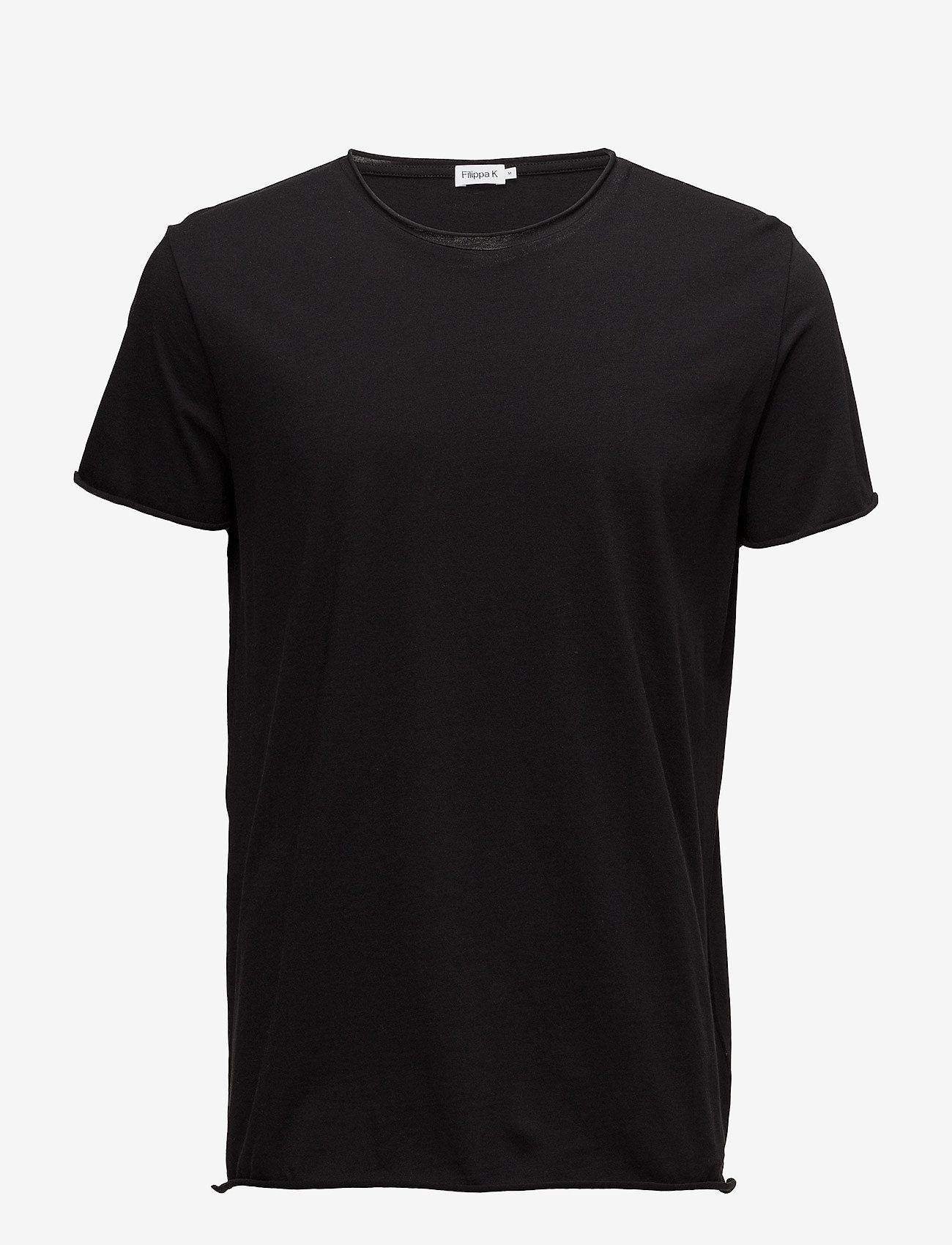 Filippa K - M. Roll Neck Tee - basic t-shirts - black - 0
