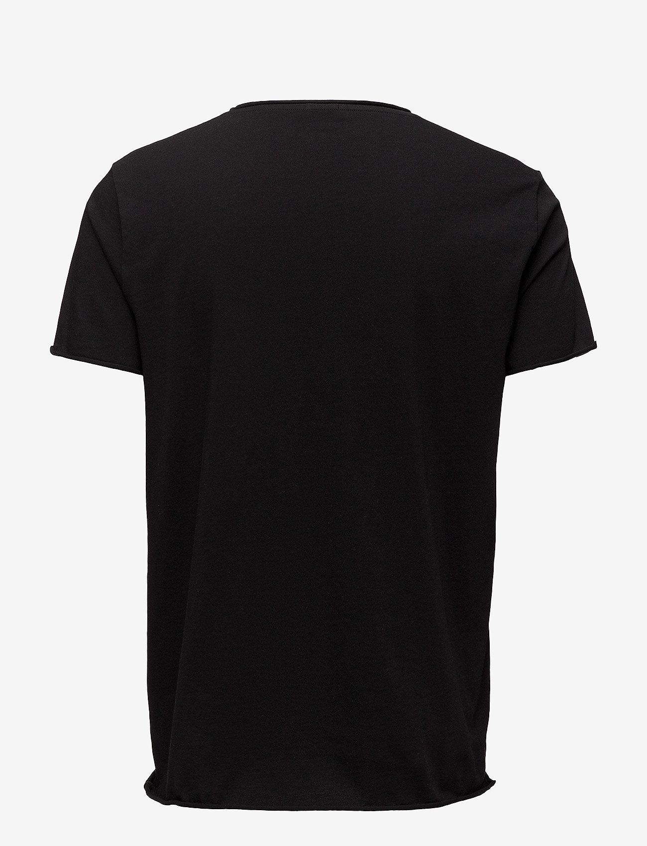 Filippa K - M. Roll Neck Tee - basic t-shirts - black - 1