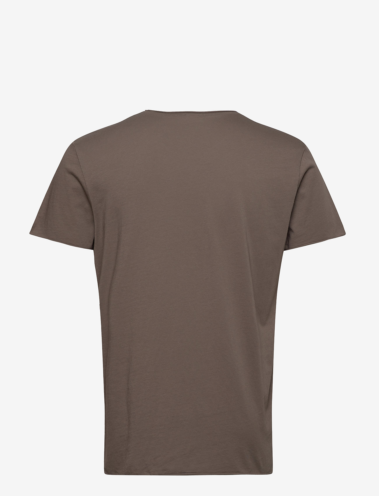 Filippa K - M. Roll Neck Tee - basic t-shirts - dark taupe - 1