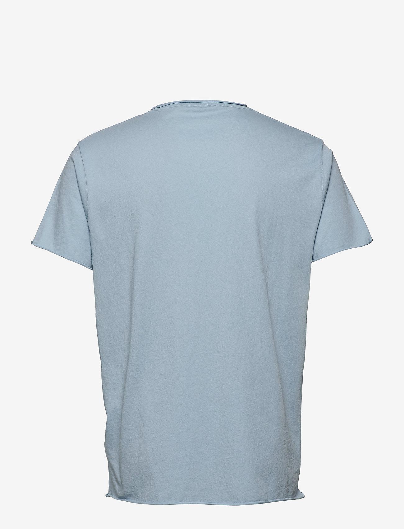Filippa K - M. Roll Neck Tee - basic t-shirts - pale blue - 1