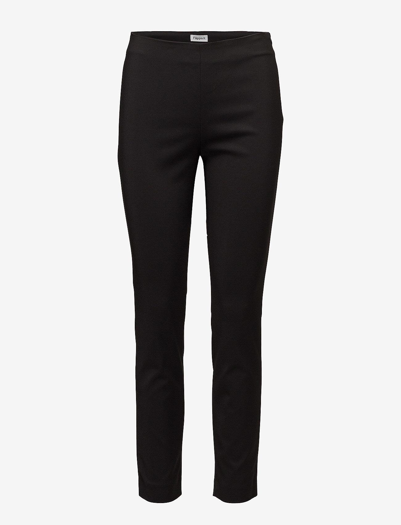 Filippa K - Mila Slim Pants - slim fit bukser - black - 0