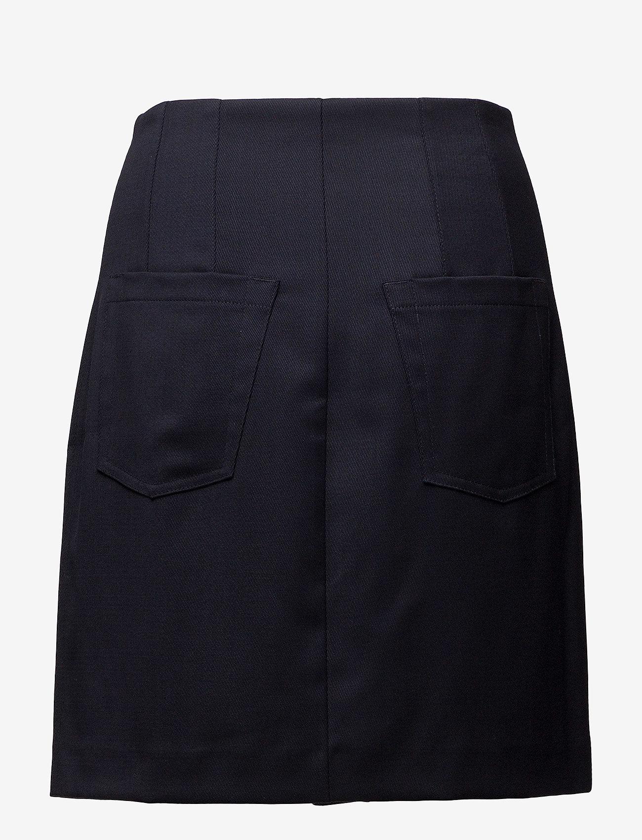 Filippa K - Twill Skirt - jupes courtes - navy