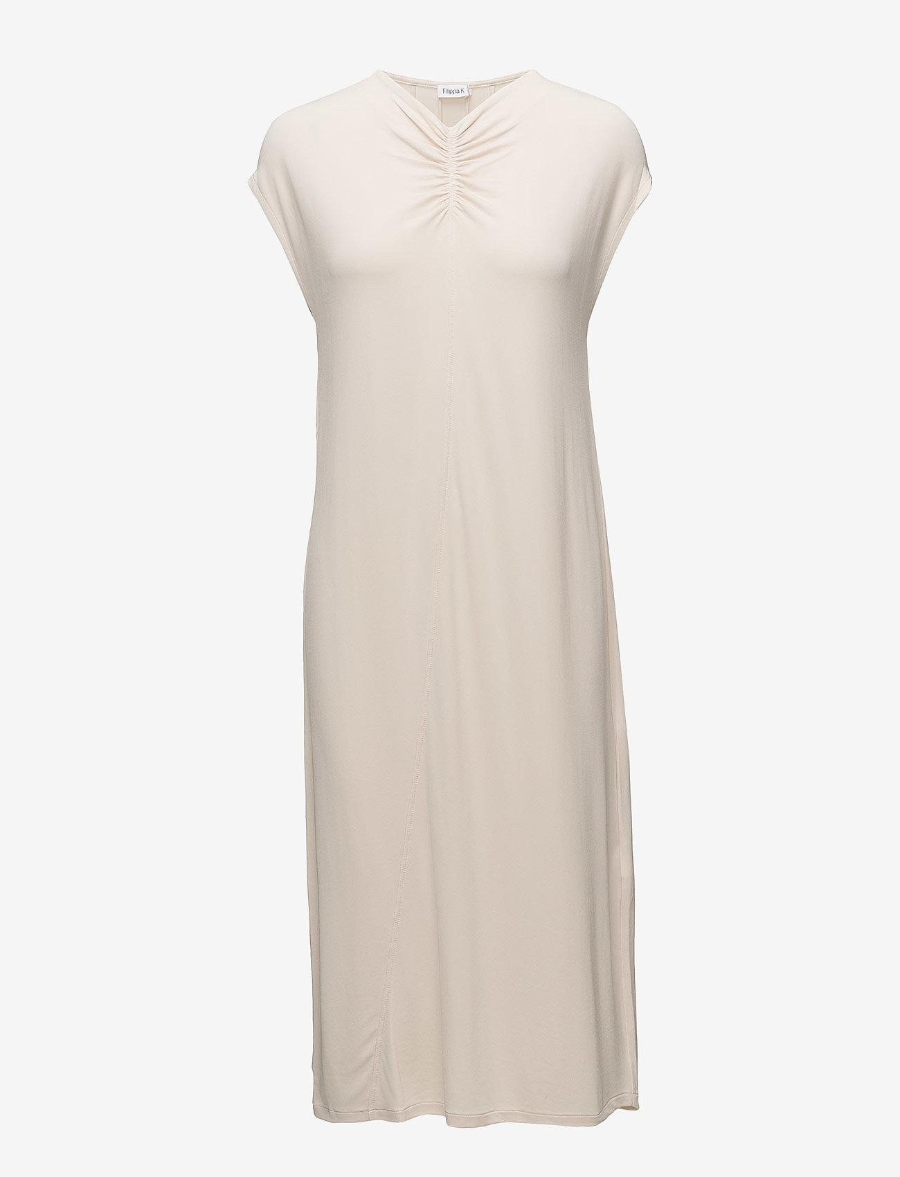 Filippa K - Crepe Jersey Dress - short dresses - bisque
