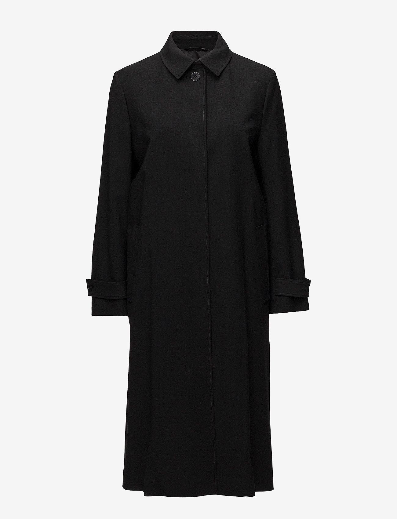 Filippa K - Sadie Duster Coat - light coats - black - 1