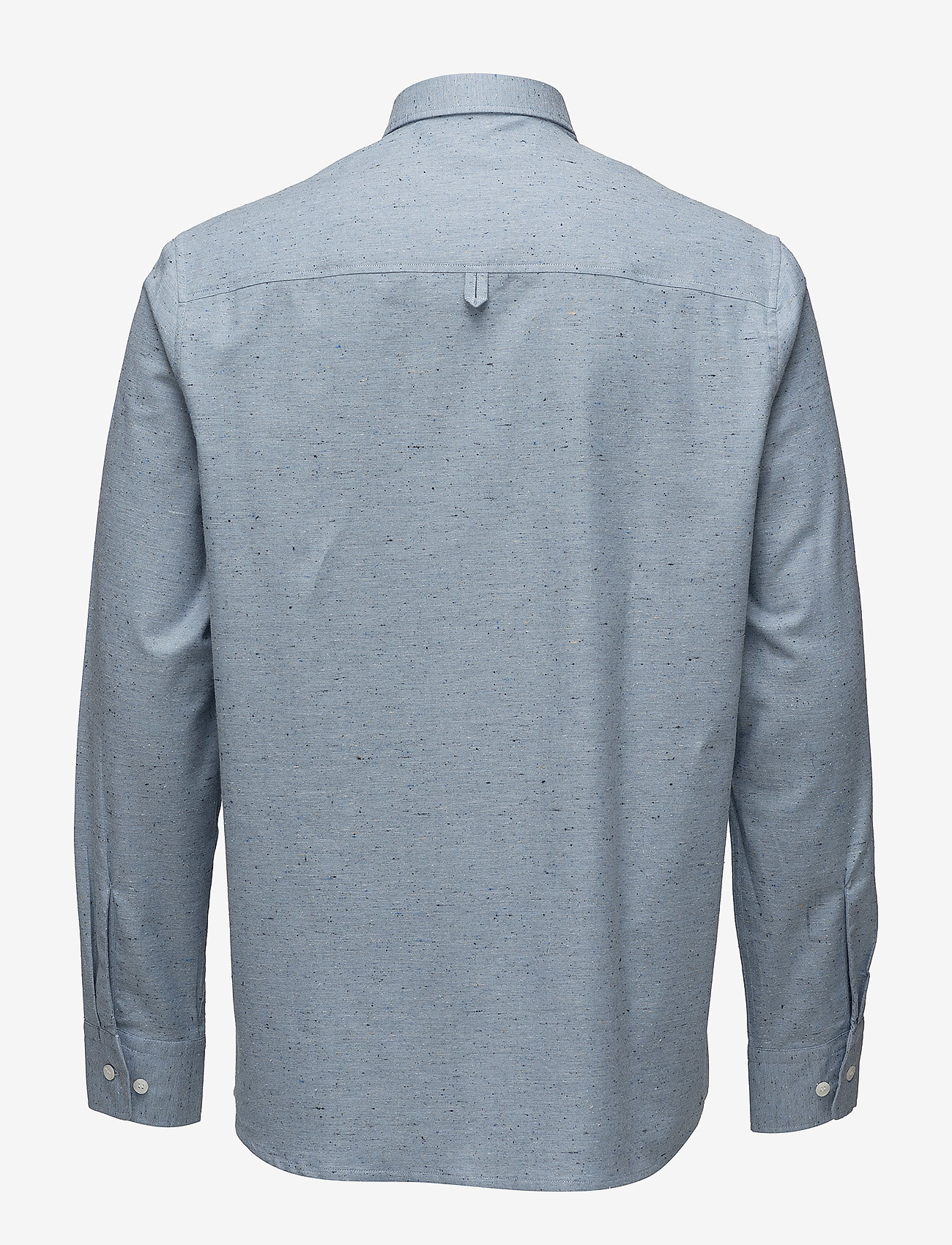 Filippa K - M. Heath Tweed Shirt - chemises basiques - aquatic me