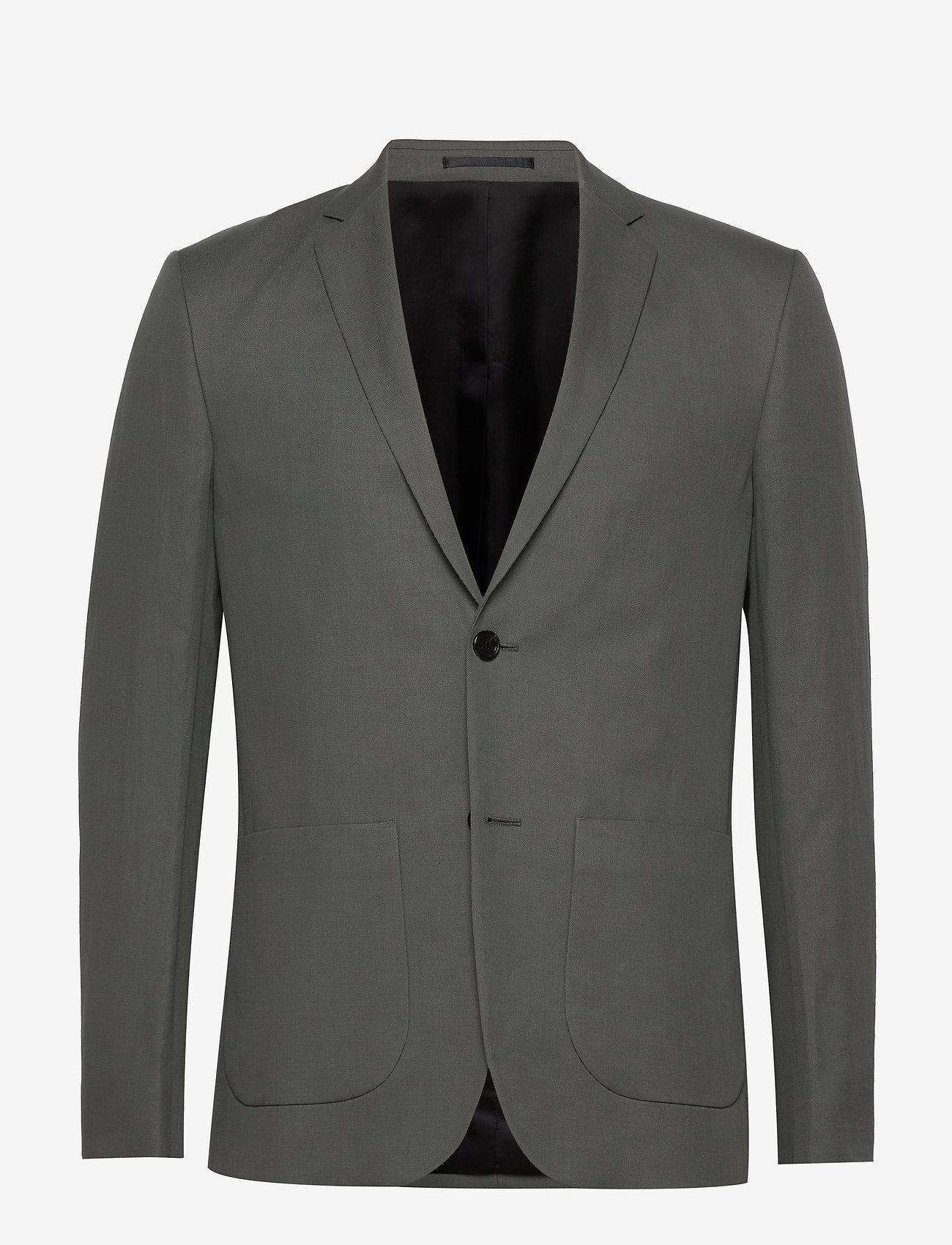 Filippa K - M. Rick Linen Blazer - colberts - green grey - 0