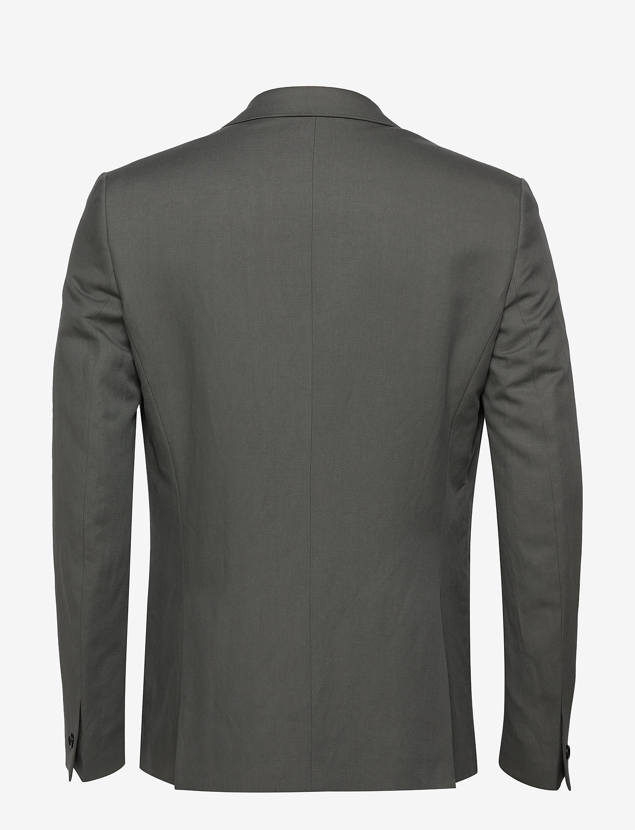 Filippa K M. Rick Linen Blazer - Dresser & blazere GREEN GREY - Menn Klær