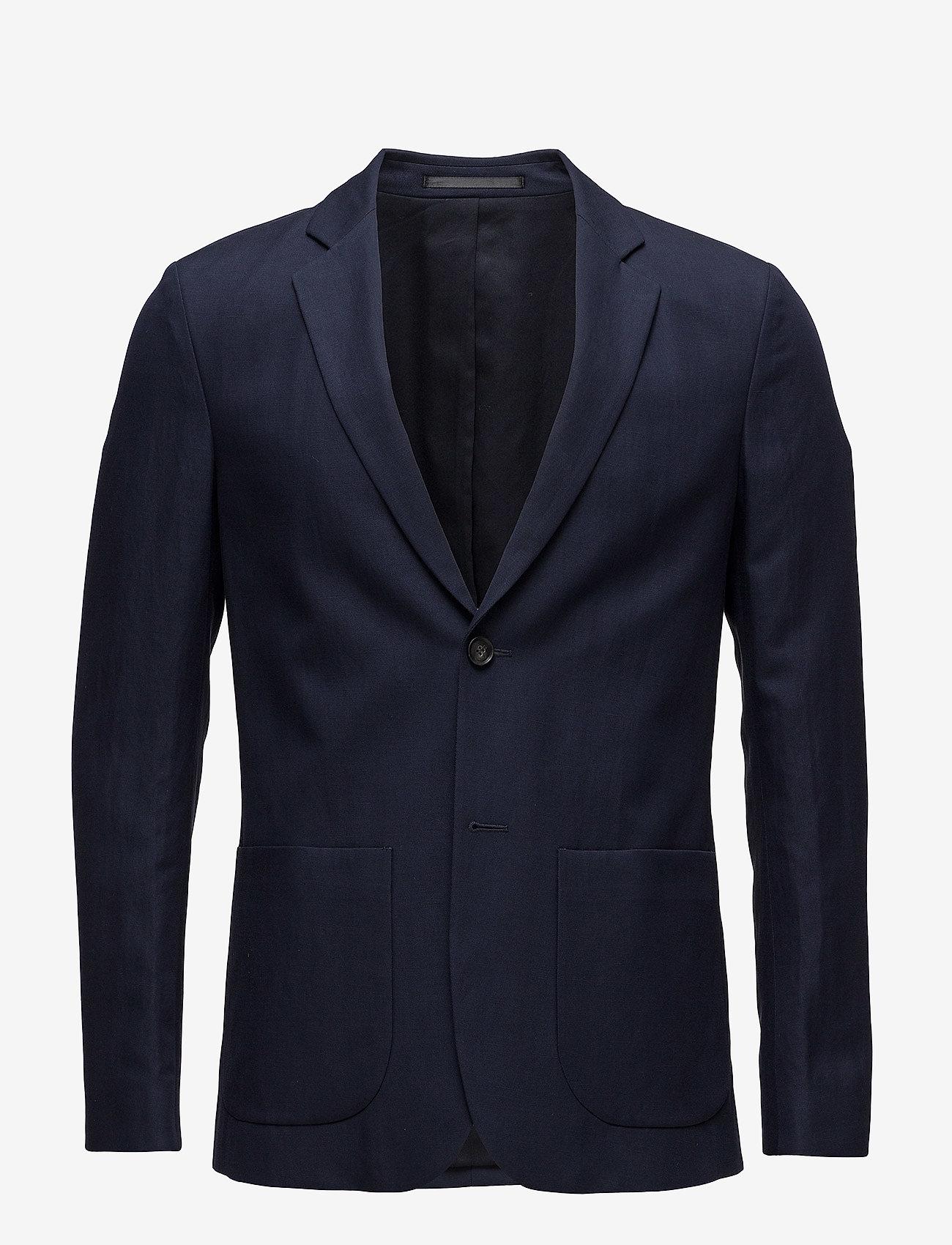 Filippa K - M. Rick Linen Blazer - single breasted blazers - navy - 0
