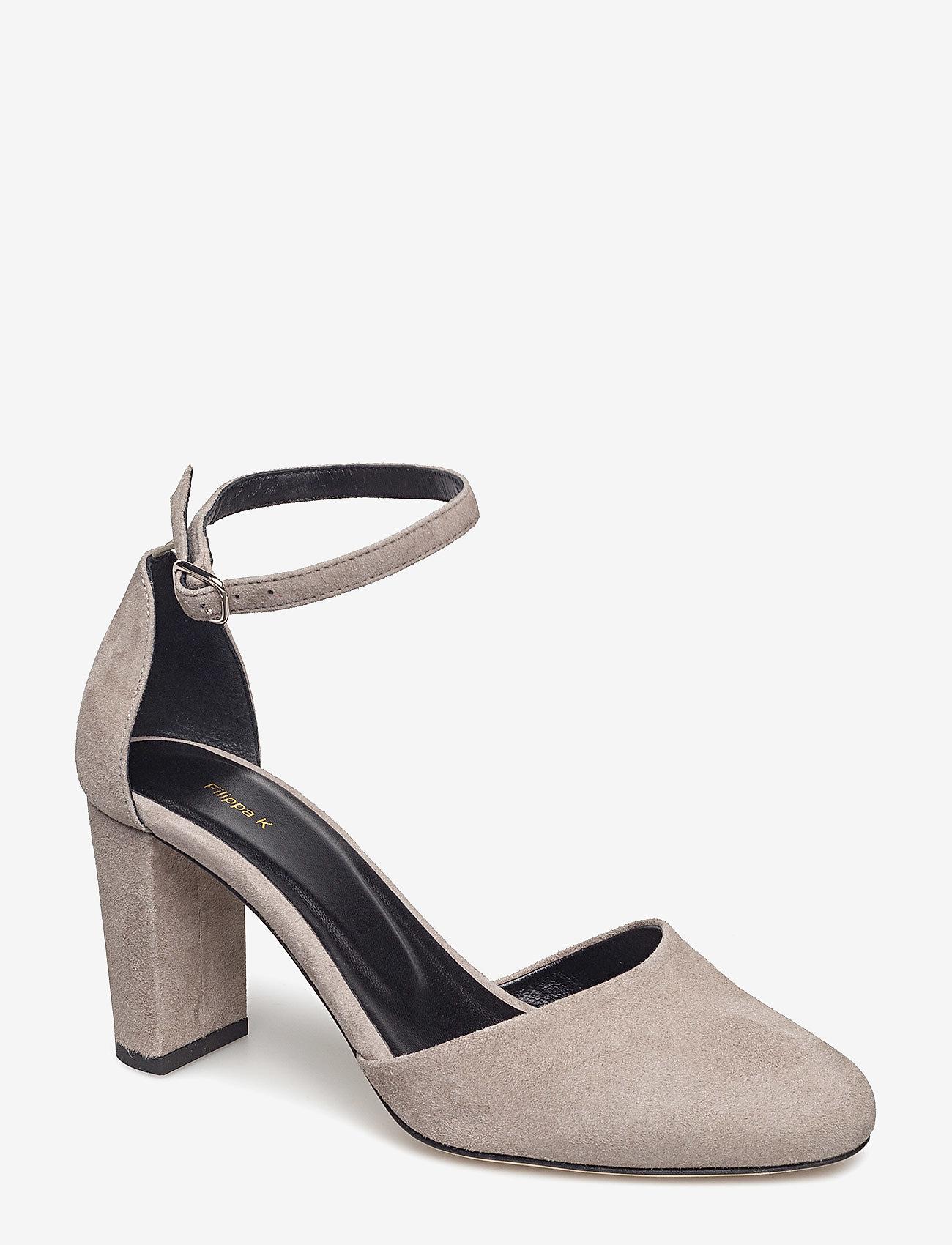 Filippa K - Lauren Sandal - klassiske pumps - dk stone s - 0