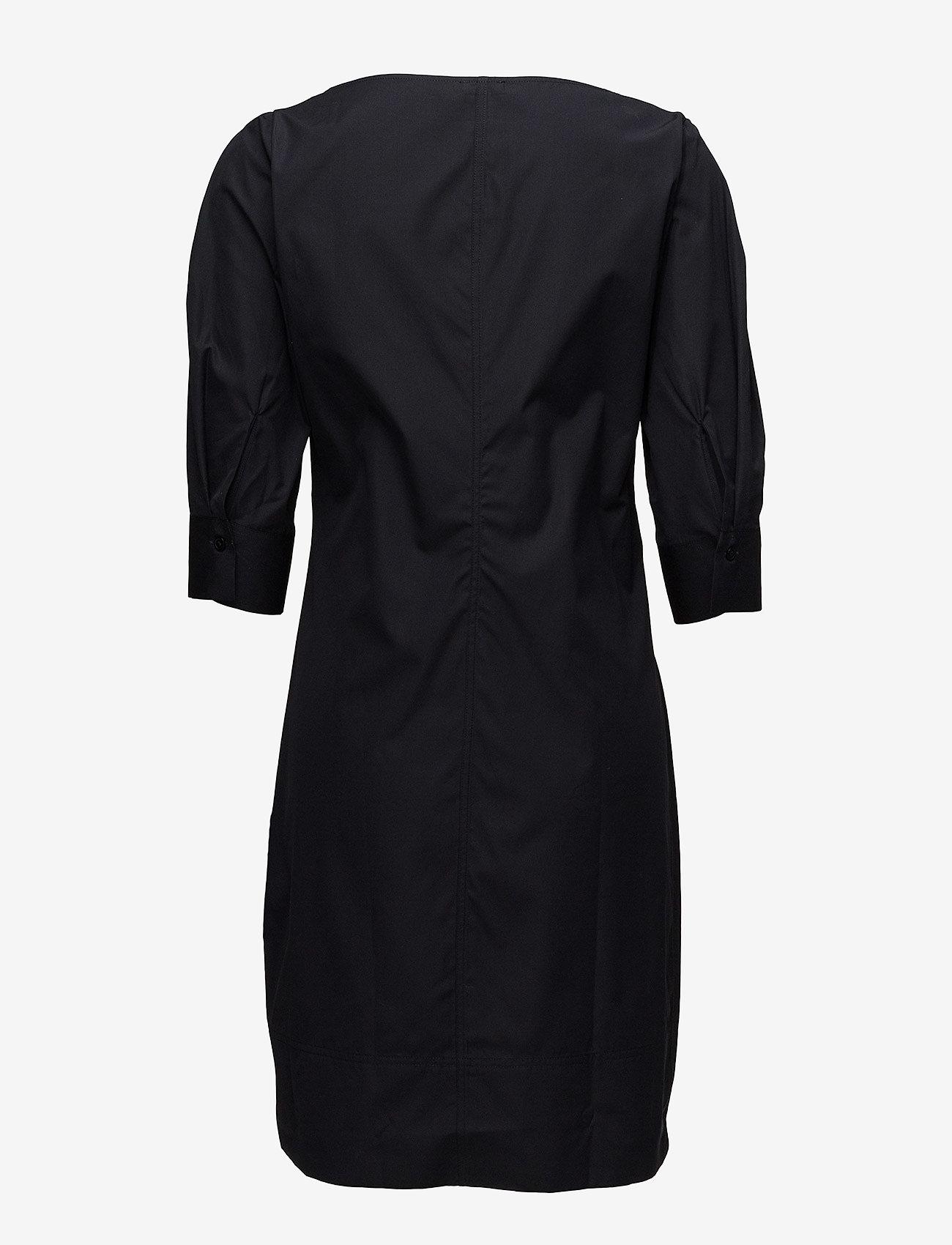 Filippa K - Poplin Dress - short dresses - black