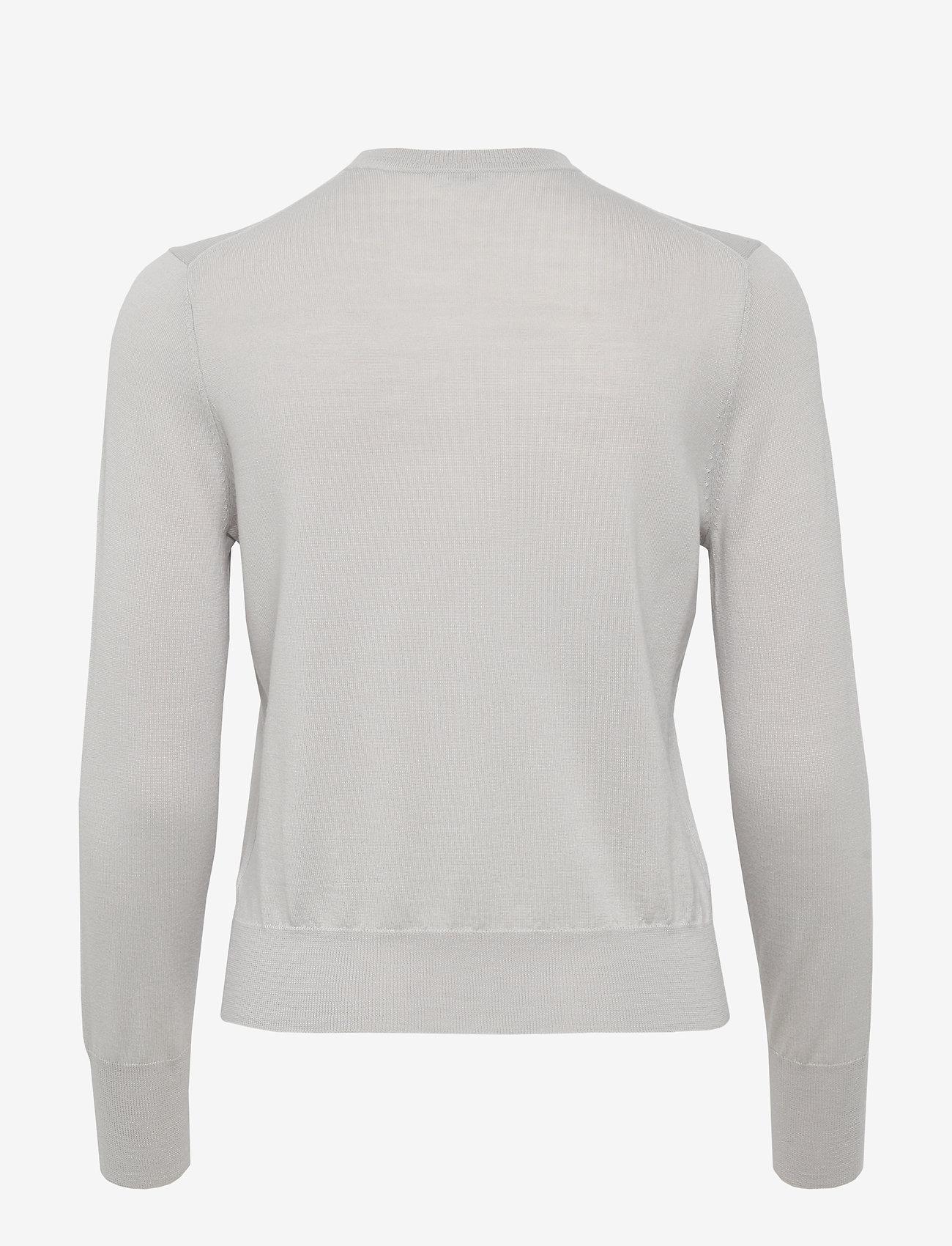 Filippa K Merino Short Cardigan - Stickat Sterling G