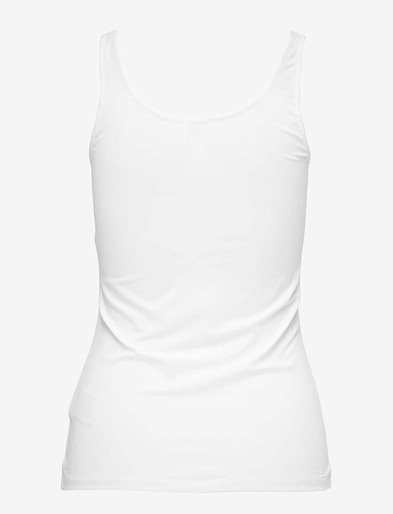 Filippa K - Cotton Stretch Tank Top - tops zonder mouwen - white - 1