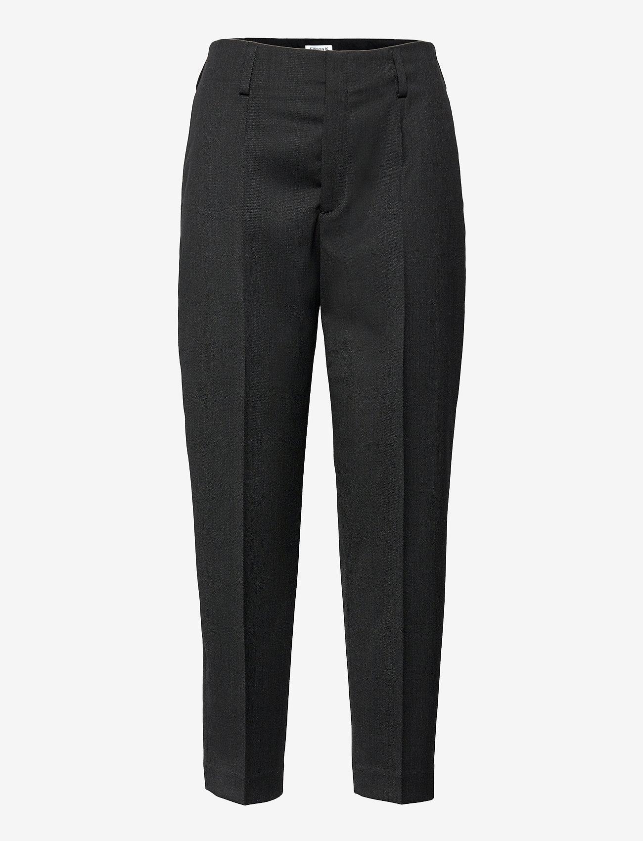 Filippa K - Karlie Trousers - broeken med straight ben - anthracite - 0
