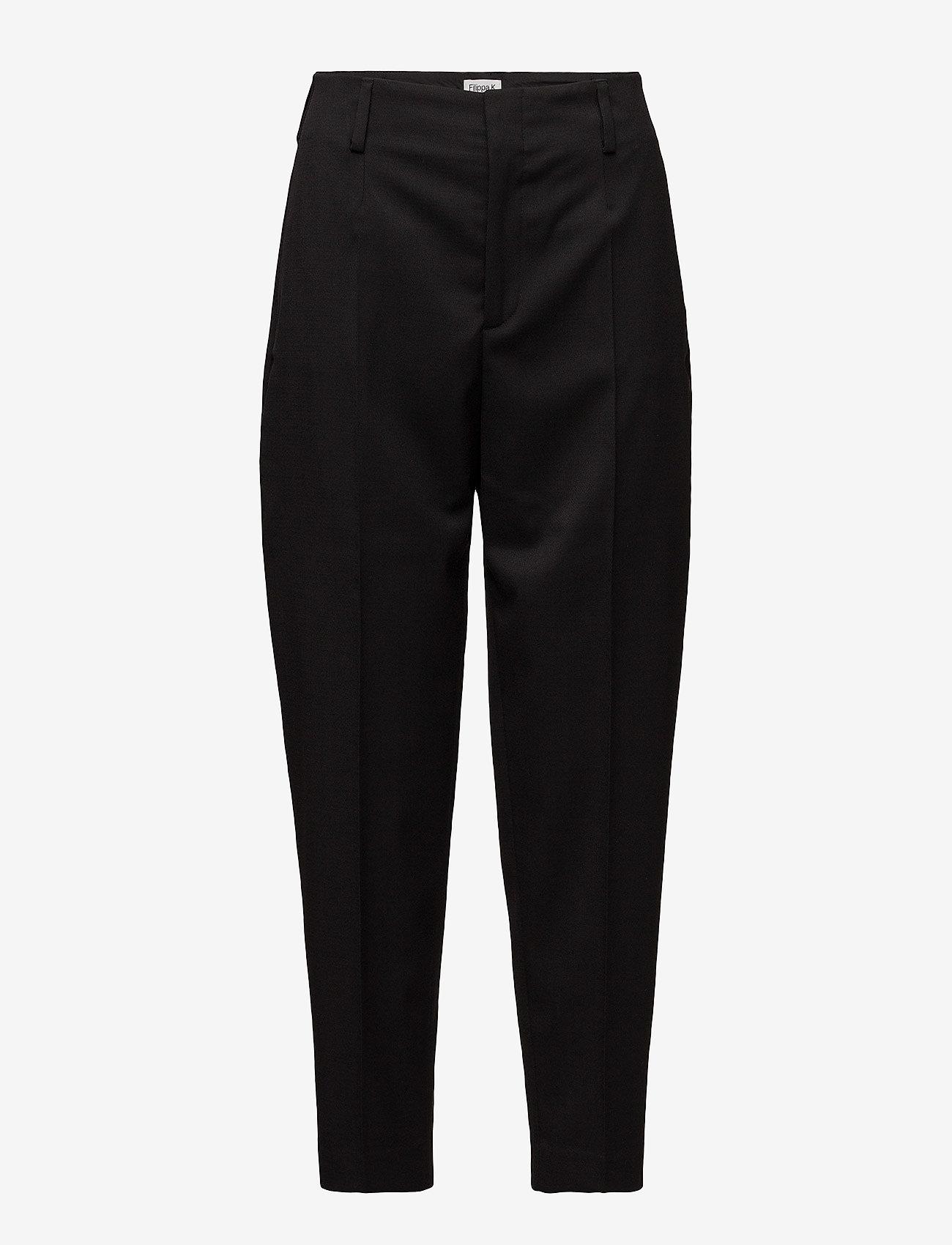 Filippa K - Karlie Trousers - straight leg trousers - black - 0