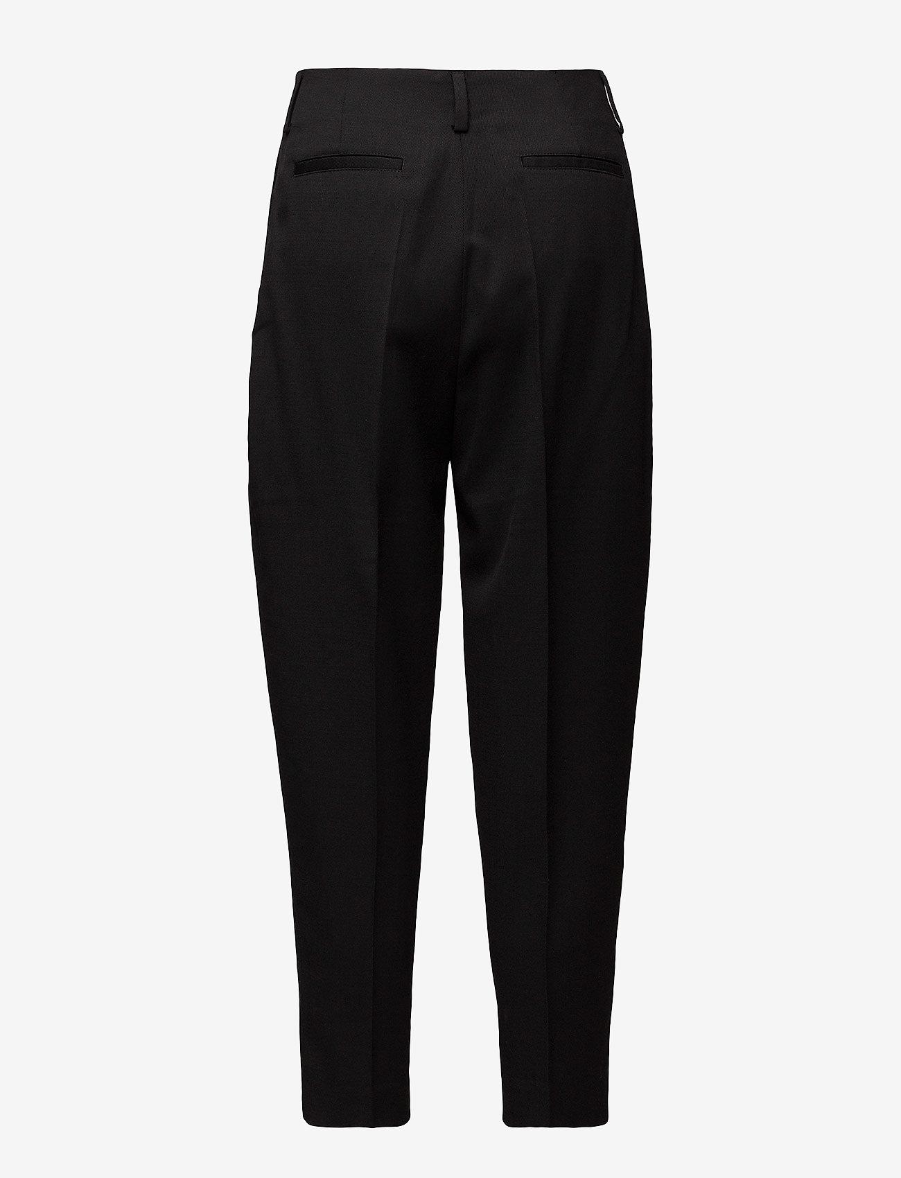 Filippa K - Karlie Trousers - straight leg trousers - black - 1