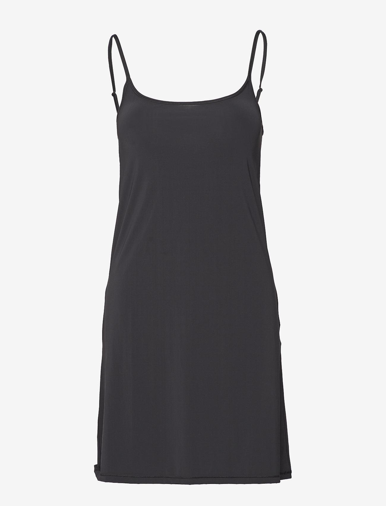 Filippa K - Tech Slip Dress - bodies en onderjurken - black - 0