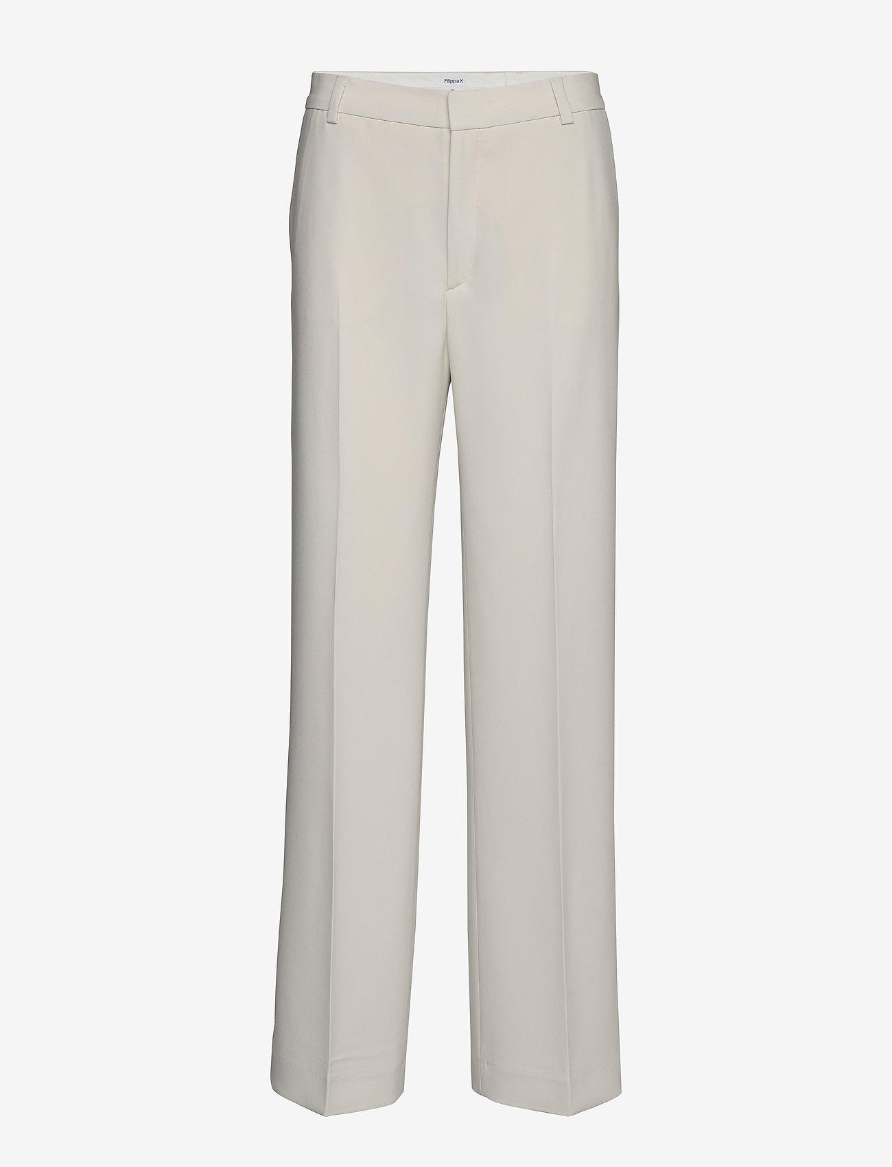 Filippa K - Hutton Trouser - wide leg trousers - ivory - 0