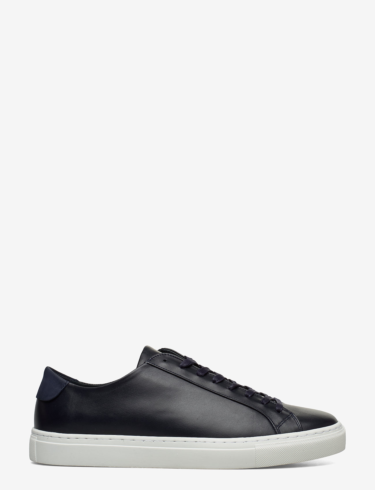 Filippa K - M. Morgan Low Mix Sneaker - låga sneakers - navy - 0